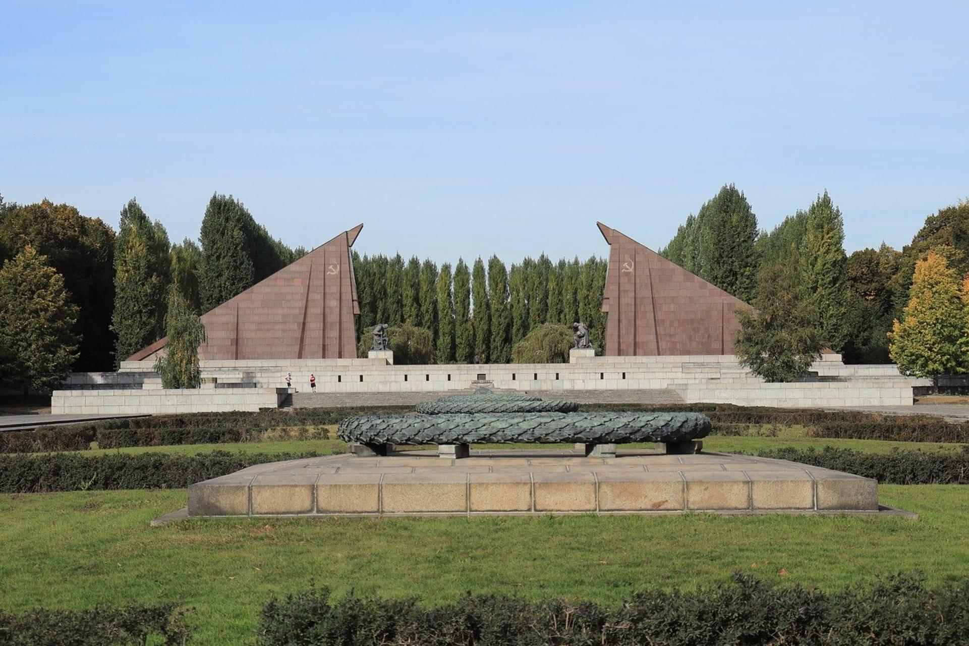 Berlin - The Soviet War Memorial in Treptow