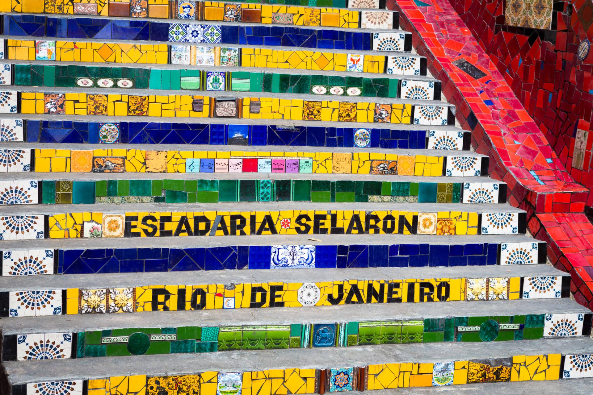 Rio de Janeiro - Selaron Stairway