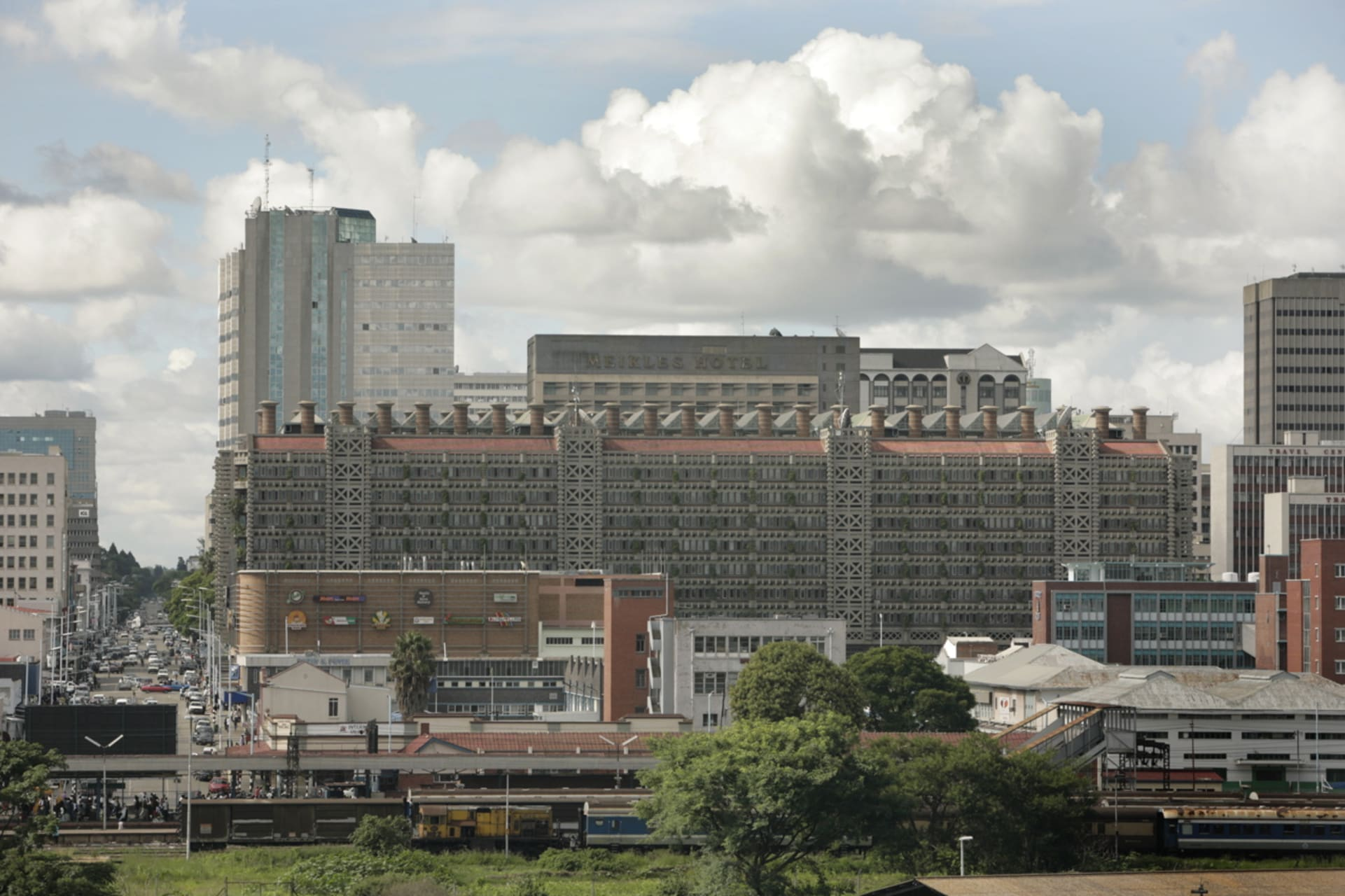 Harare - Exclusive Interview with award winning Zimbabwean Architect Mick Pearce