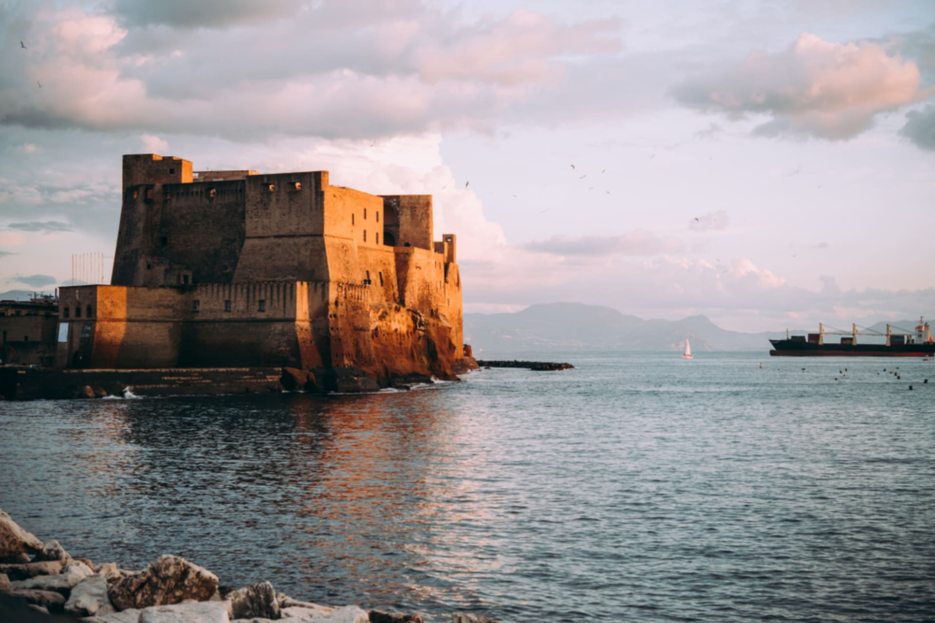 Naples - Naples Dolce Vita: Liberty style, Riviera, Royal gardens and Castle