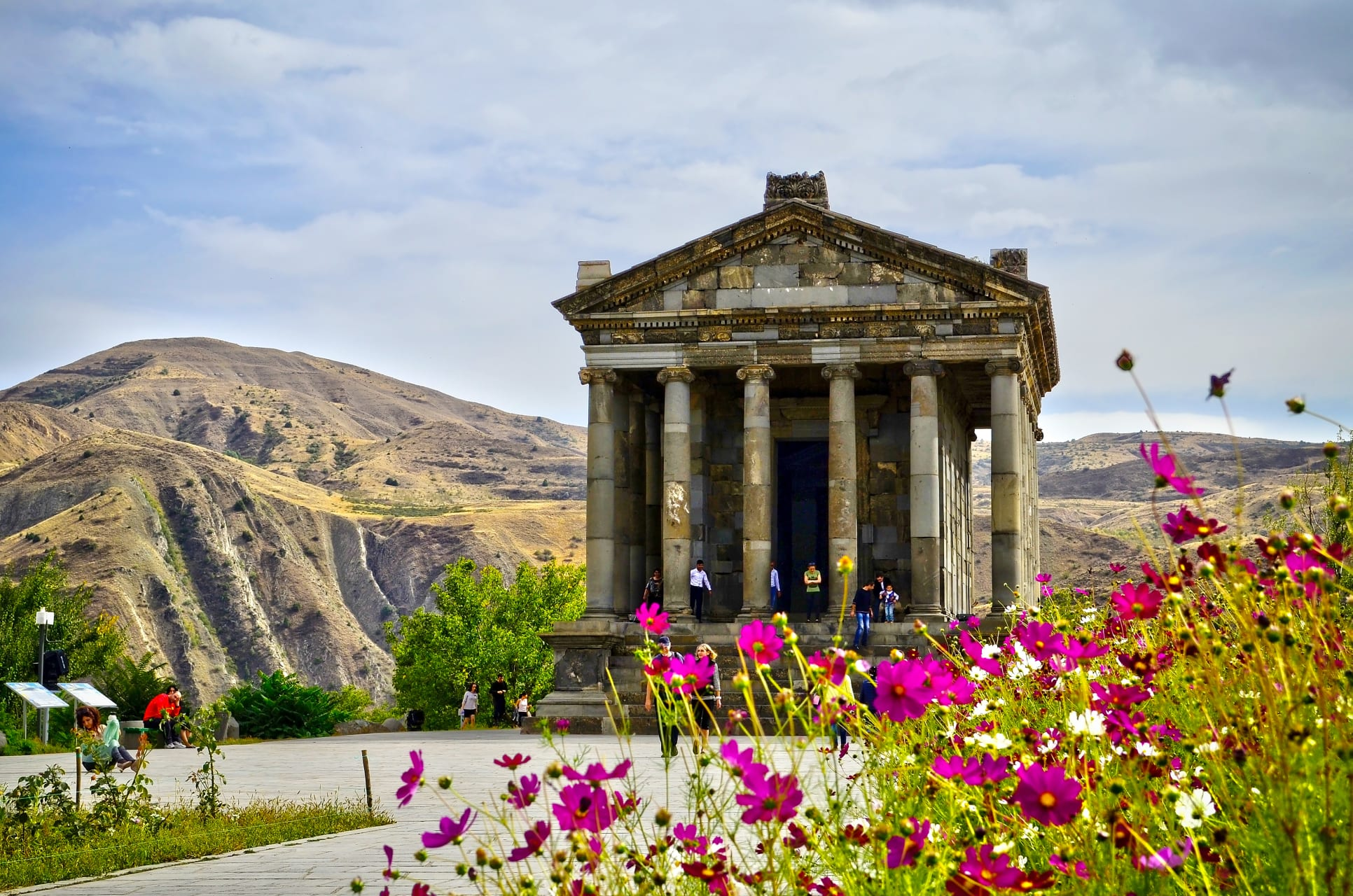 Yerevan -  Touring the Pagan Temple of Garni