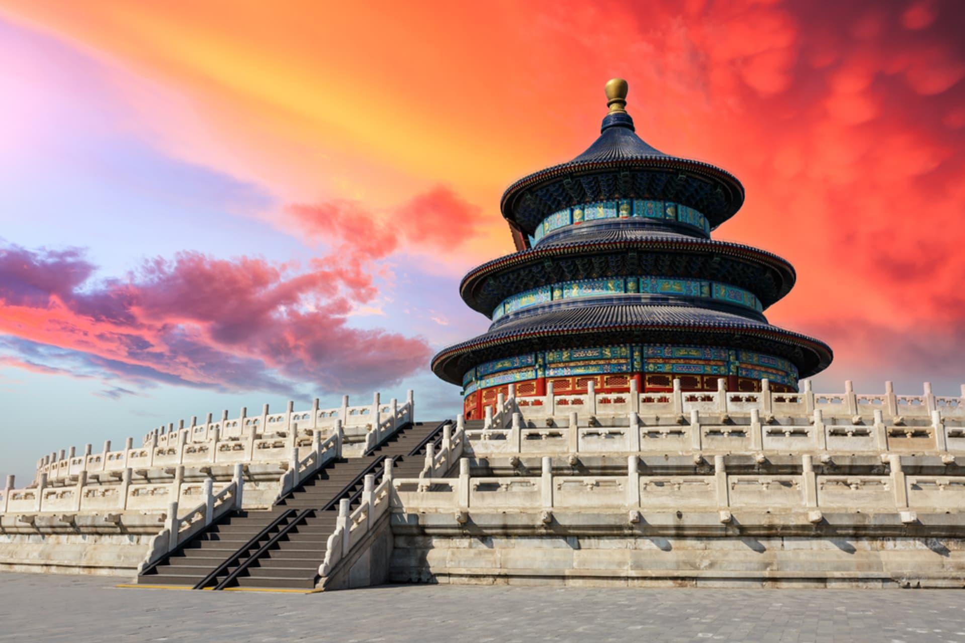 Beijing - The Temple of Heaven Park: Historical Imperial Harvest Shrine