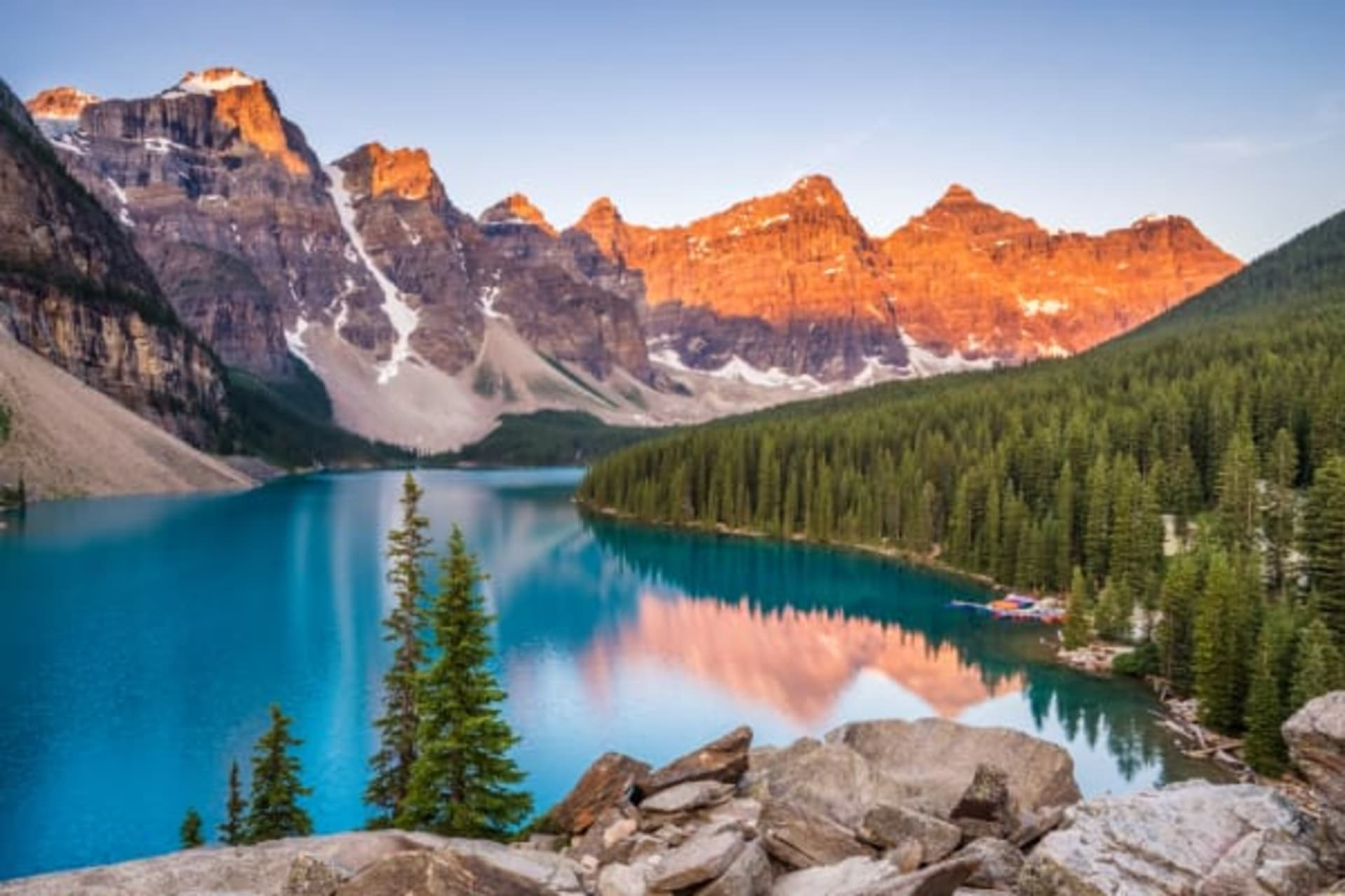 Banff - A youthful walk in the Canadian Rockies