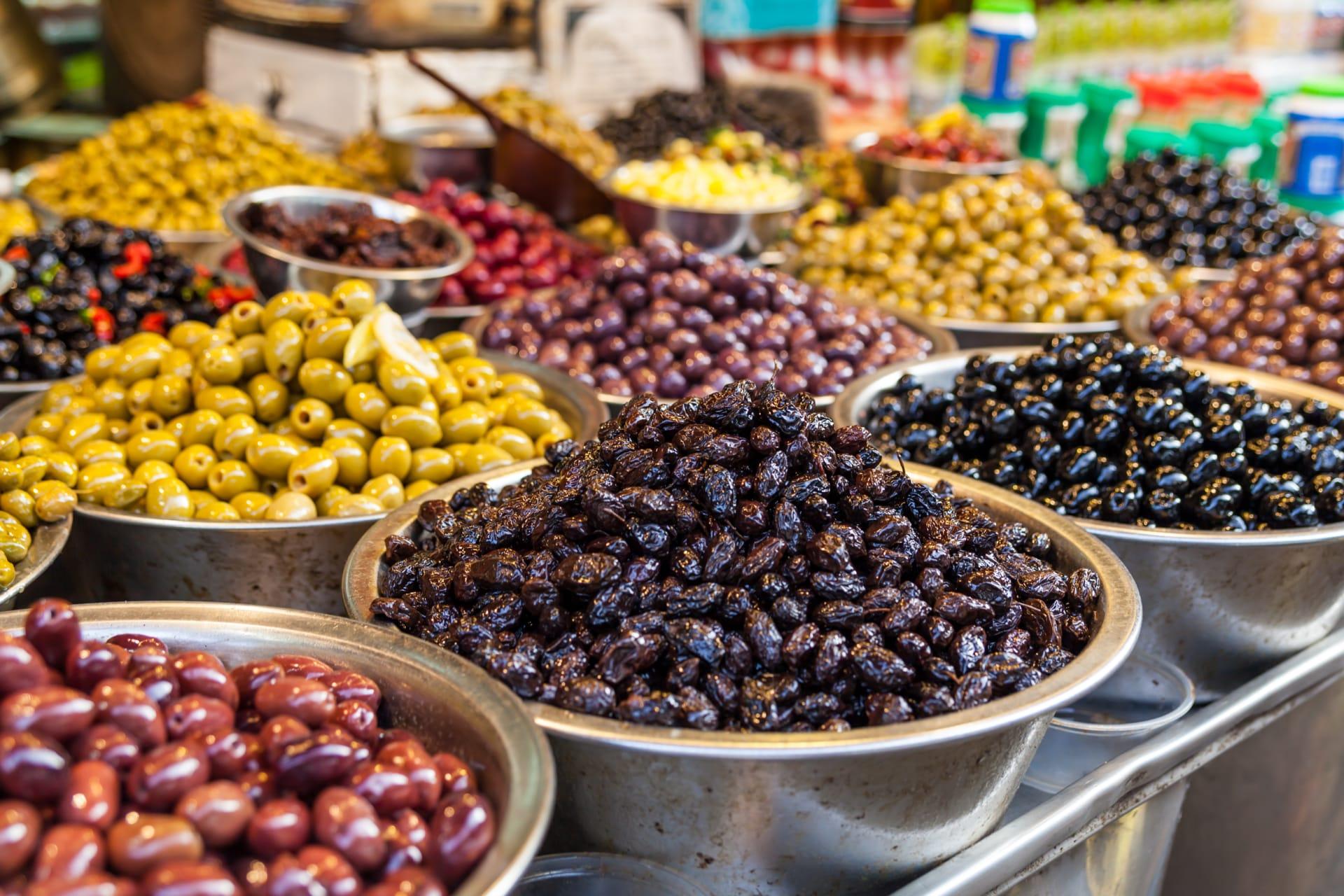 Tel Aviv - Special: Jewish New Year's Visit to Carmel Market