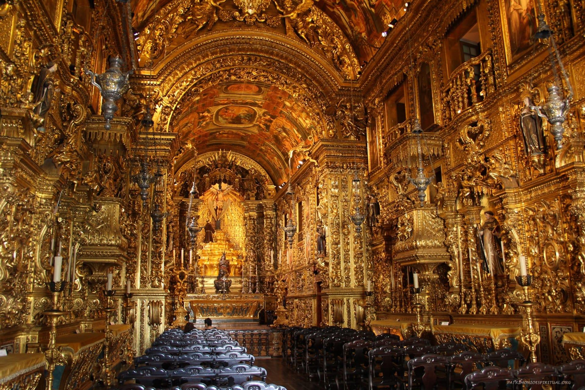 Rio de Janeiro - The temple of Baroque Art in Rio de Janeiro: Church of the Third Order of São Francisco da Penitência