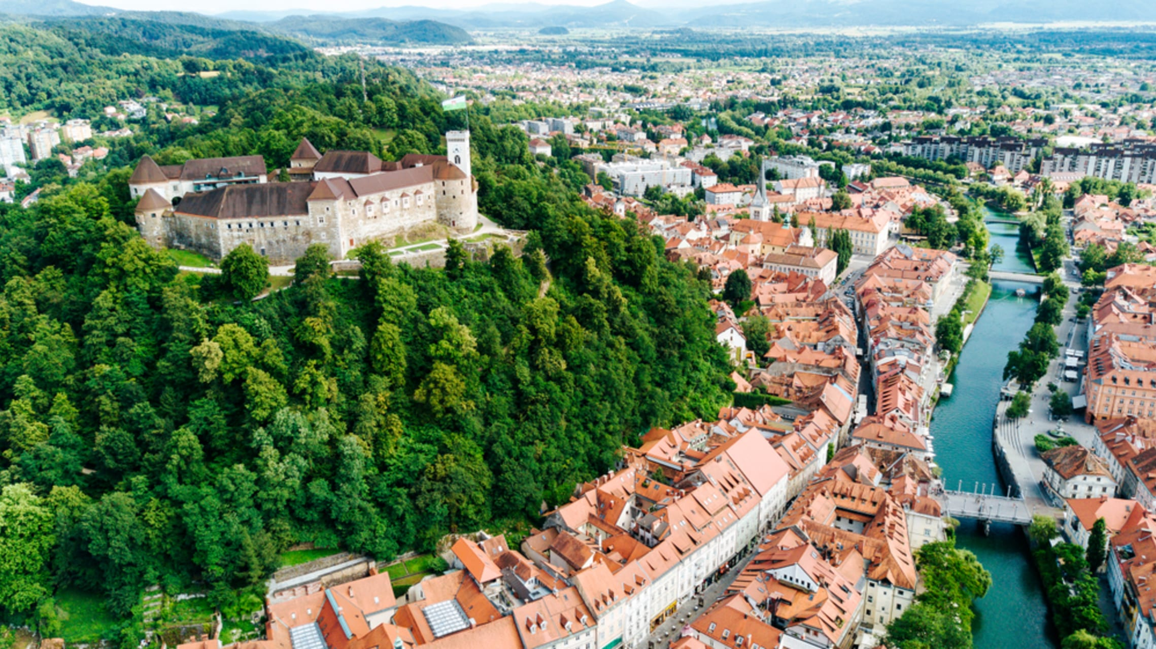 Ljubljana - Slovenia- one of the youngest European countries