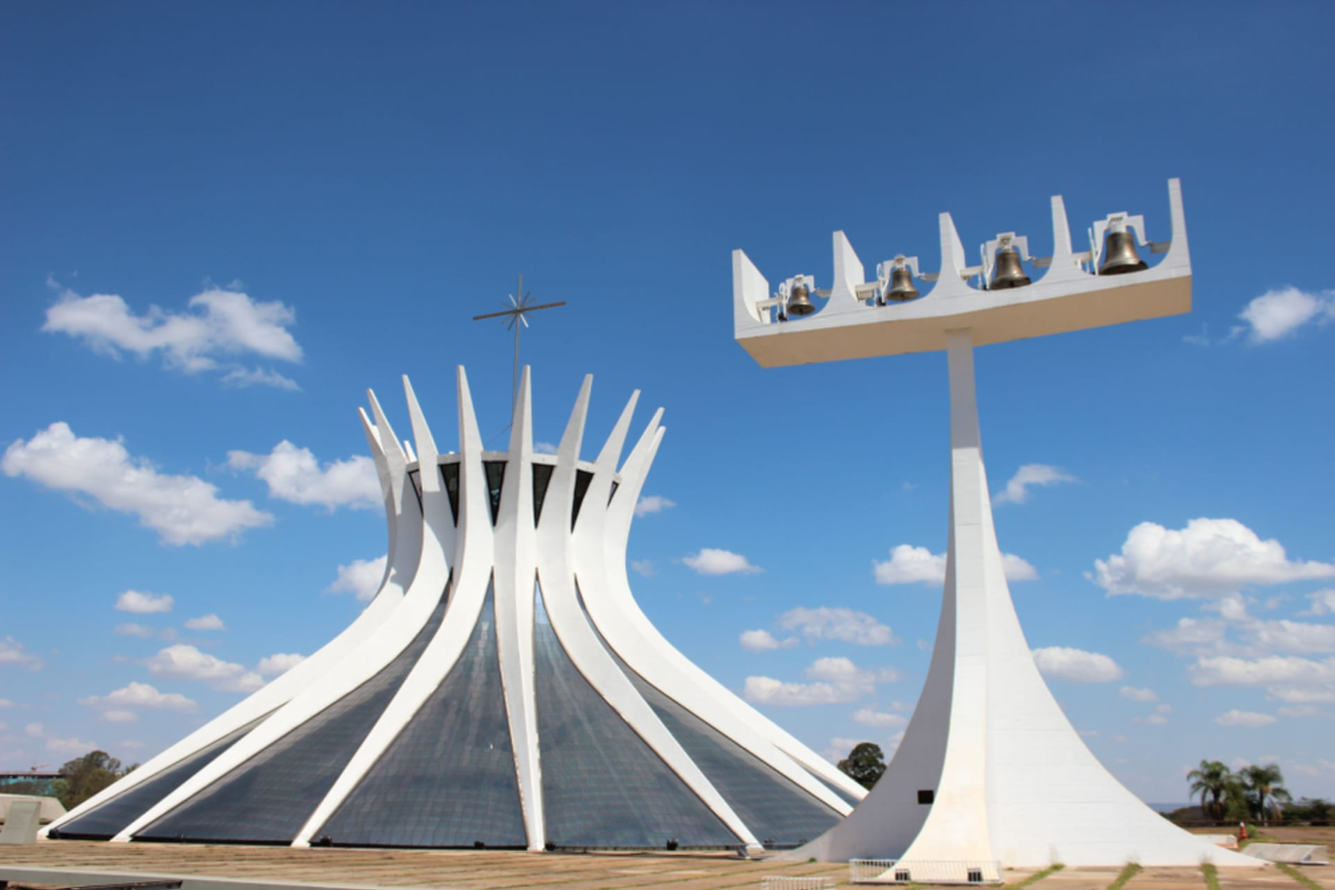 Brasilia - The modern architecture of the capital of Brazil