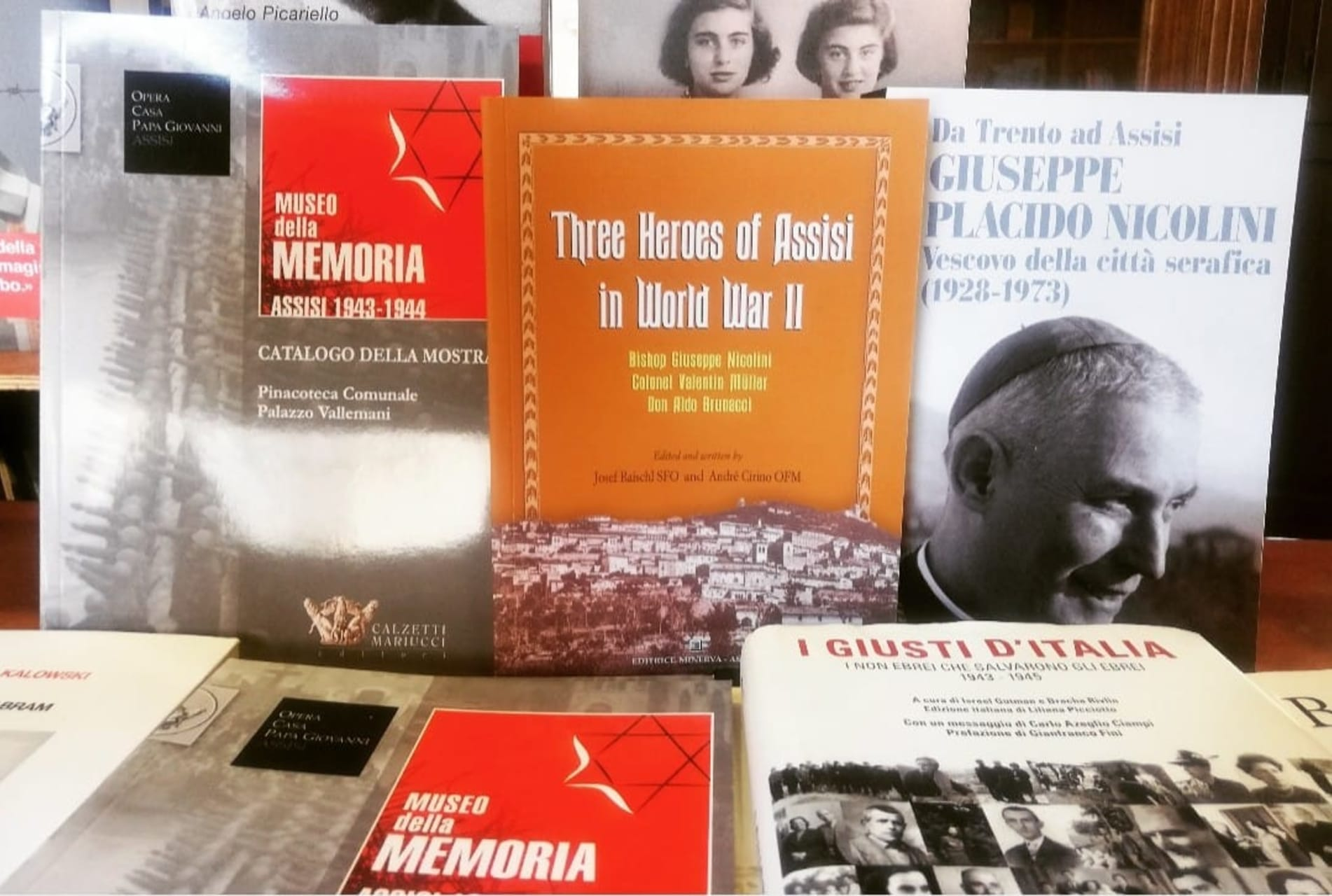 """Assisi - Museo della Memoria 1943/44 - """"...in Assisi, not one was touched..."""""""