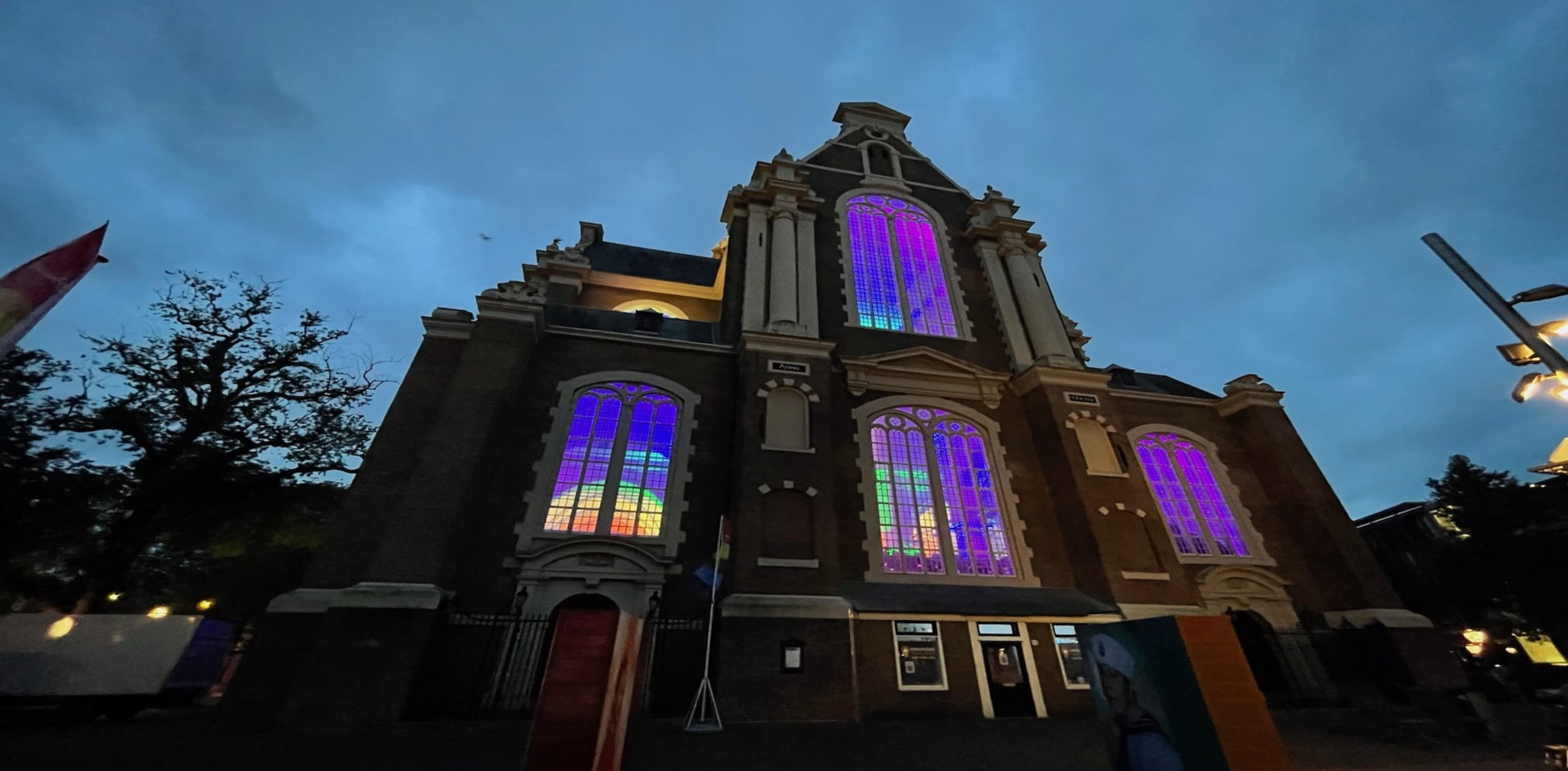 Amsterdam - Amsterdam Pride - Colourful Light Spectacle