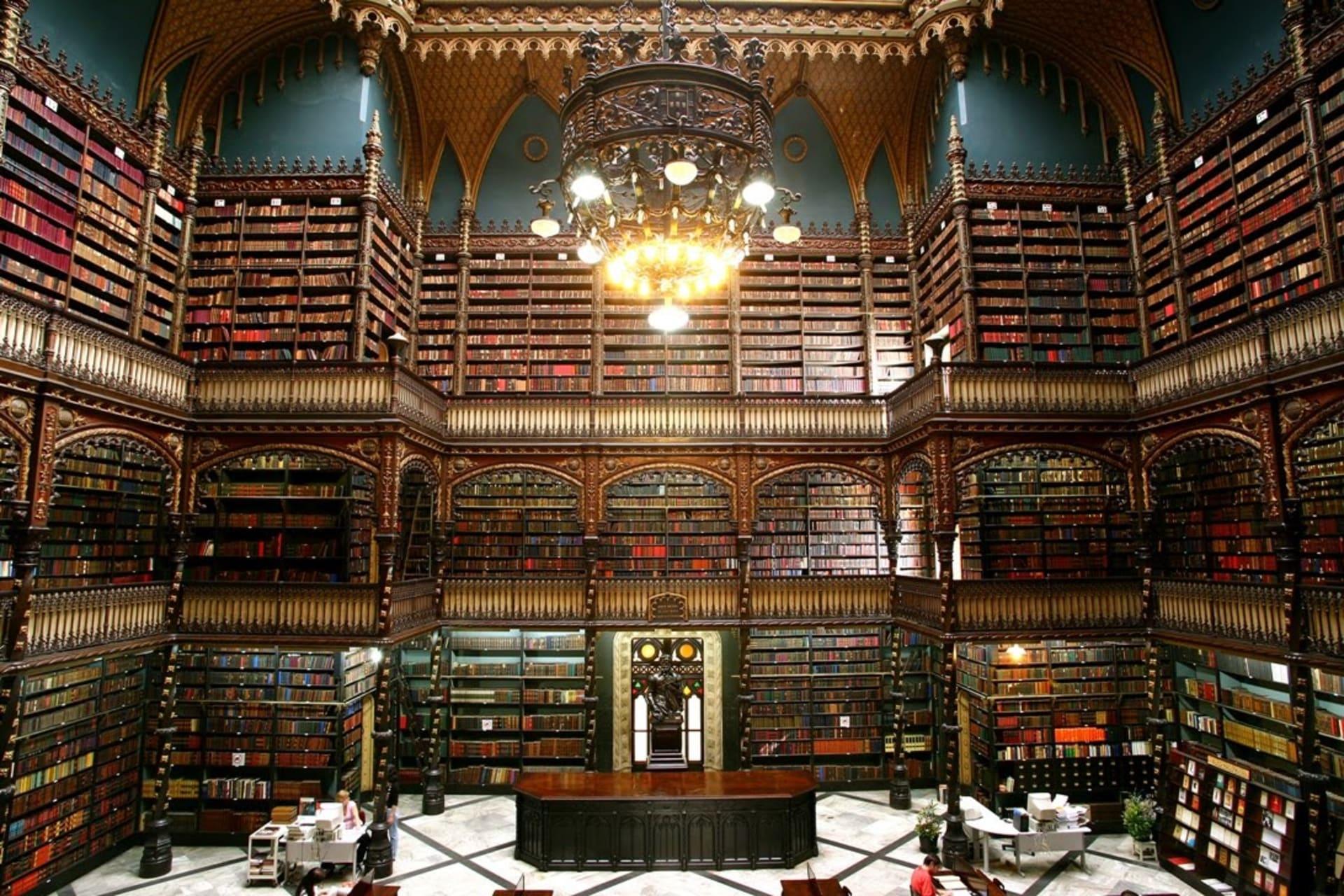 Rio de Janeiro - The Royal Portuguese Reading Room in Rio de Janeiro