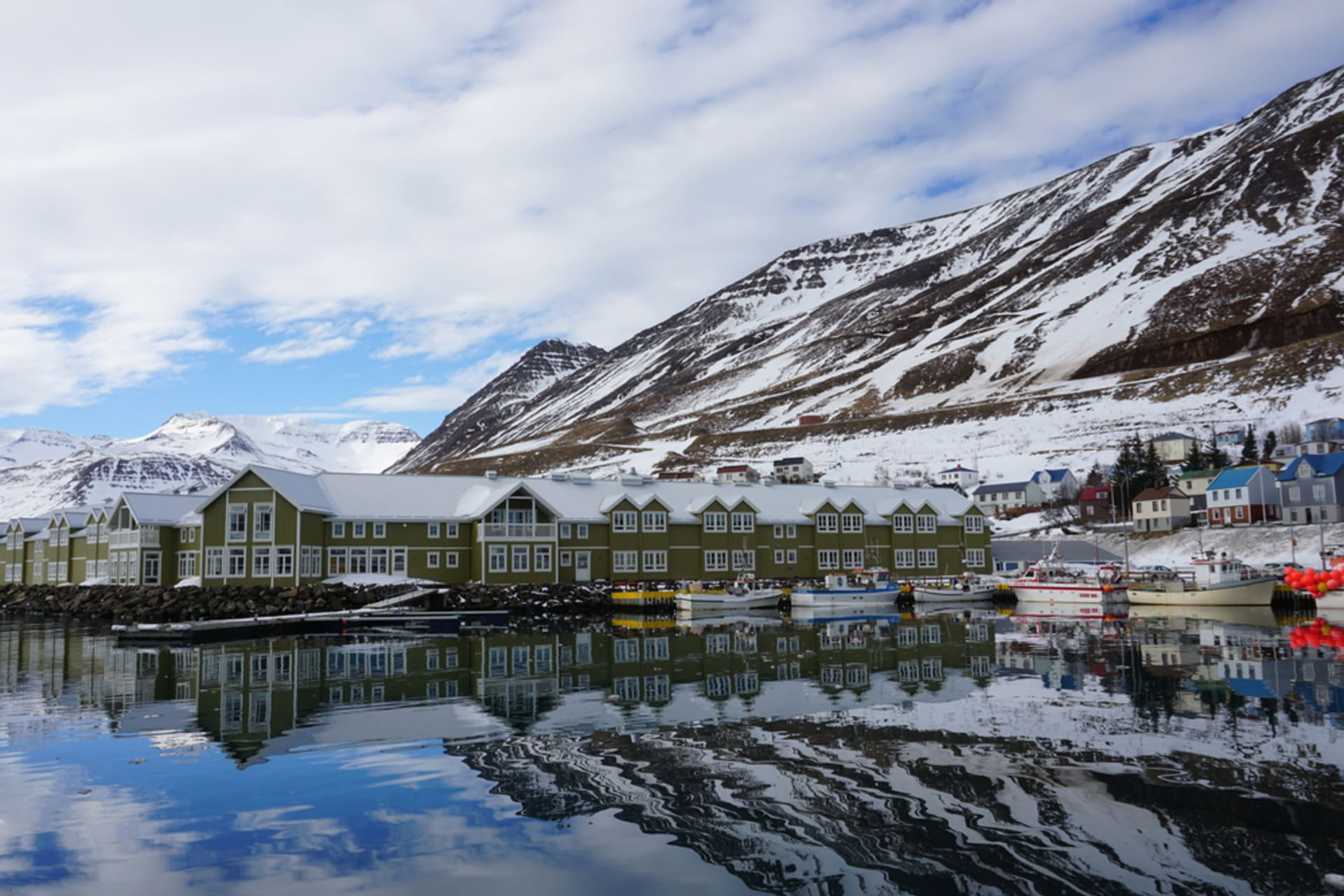 """North Iceland - Siglufjörður glorious past and """"Trapped"""""""