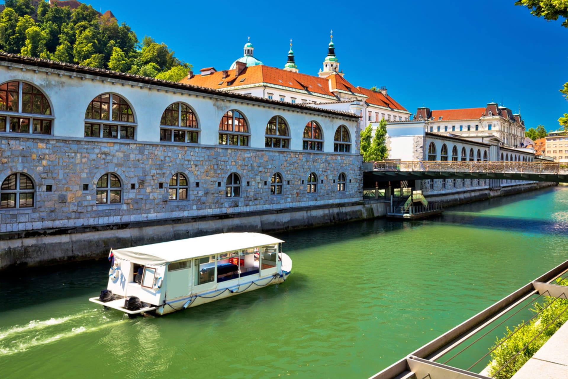 Ljubljana - Boat Tour in Ljubljana - Charming perspectives
