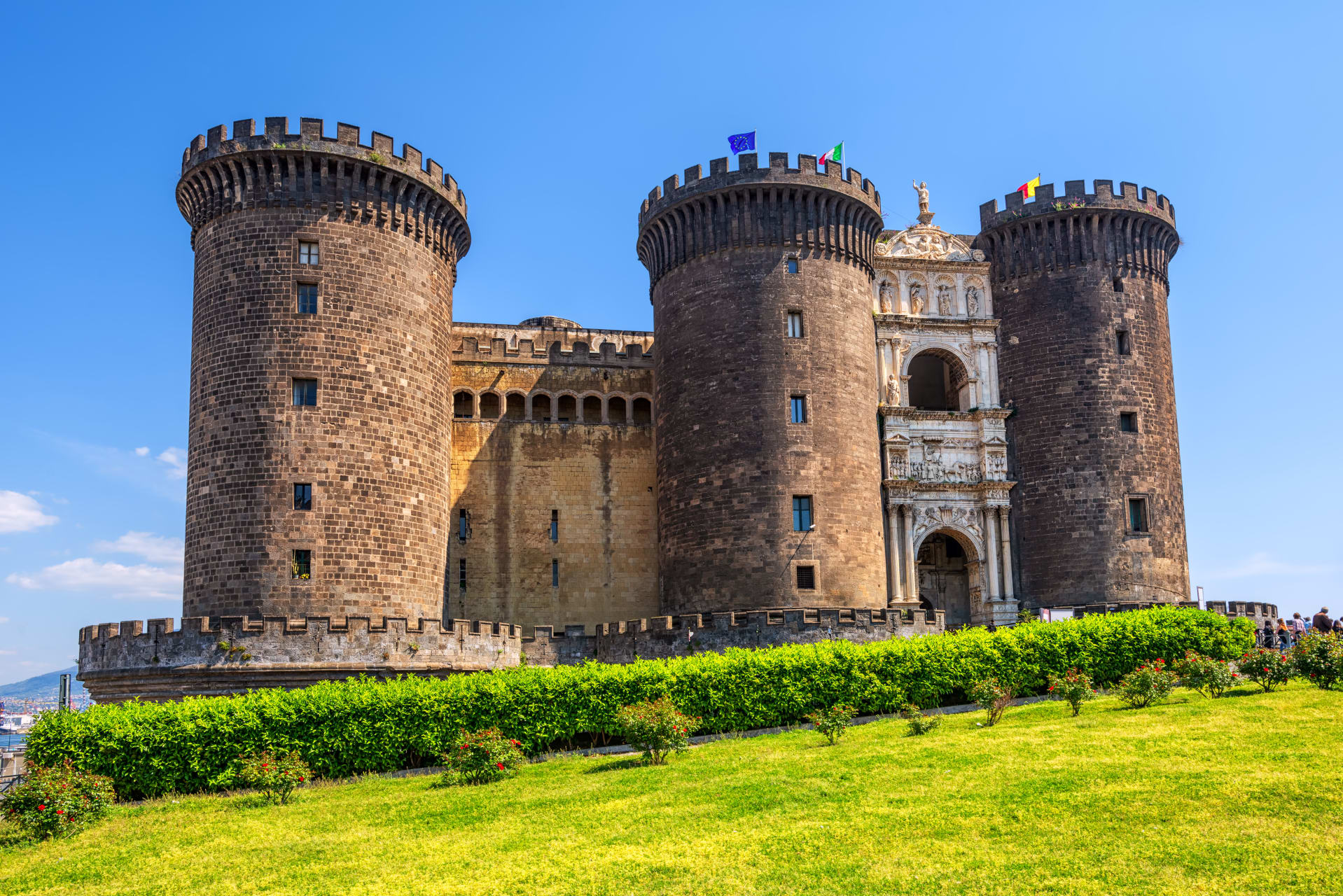 Naples - The Monumental Naples: Seaside and Royal Area