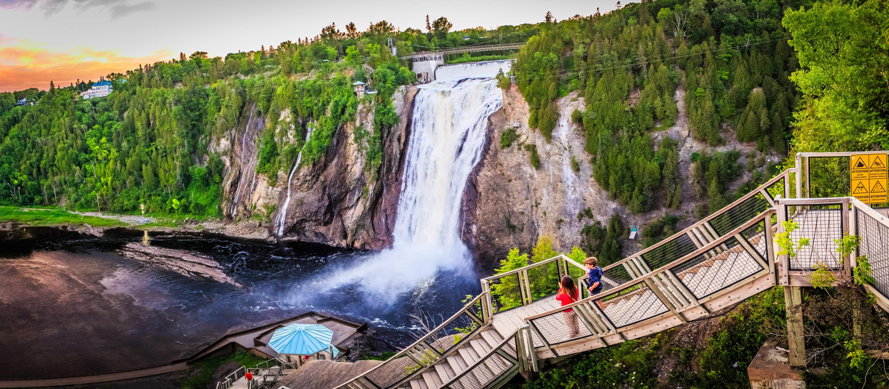 Quebec City - Montmorency Waterfalls Trip