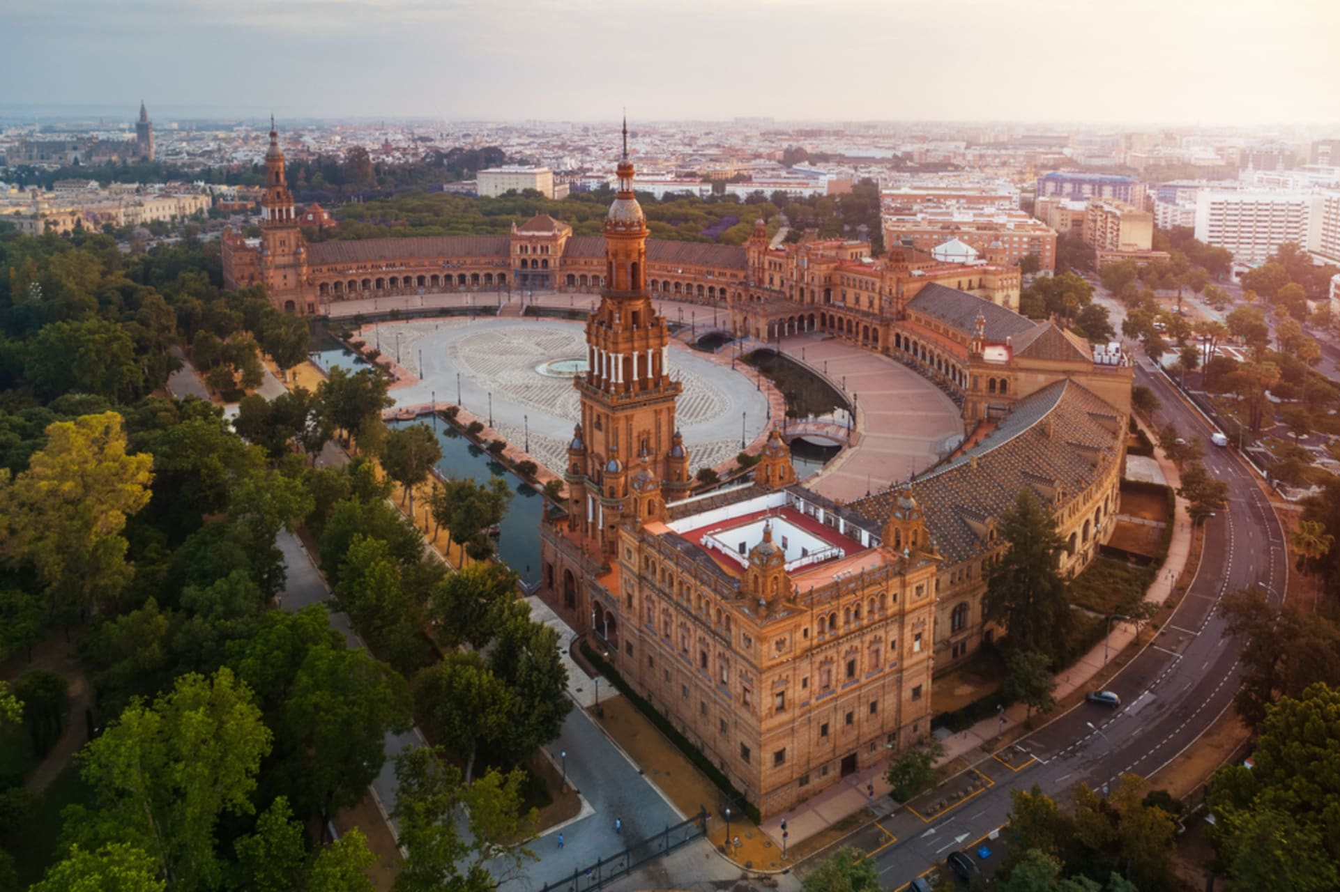 Seville - Plaza de España in Seville: The Crown Jewel of the World!