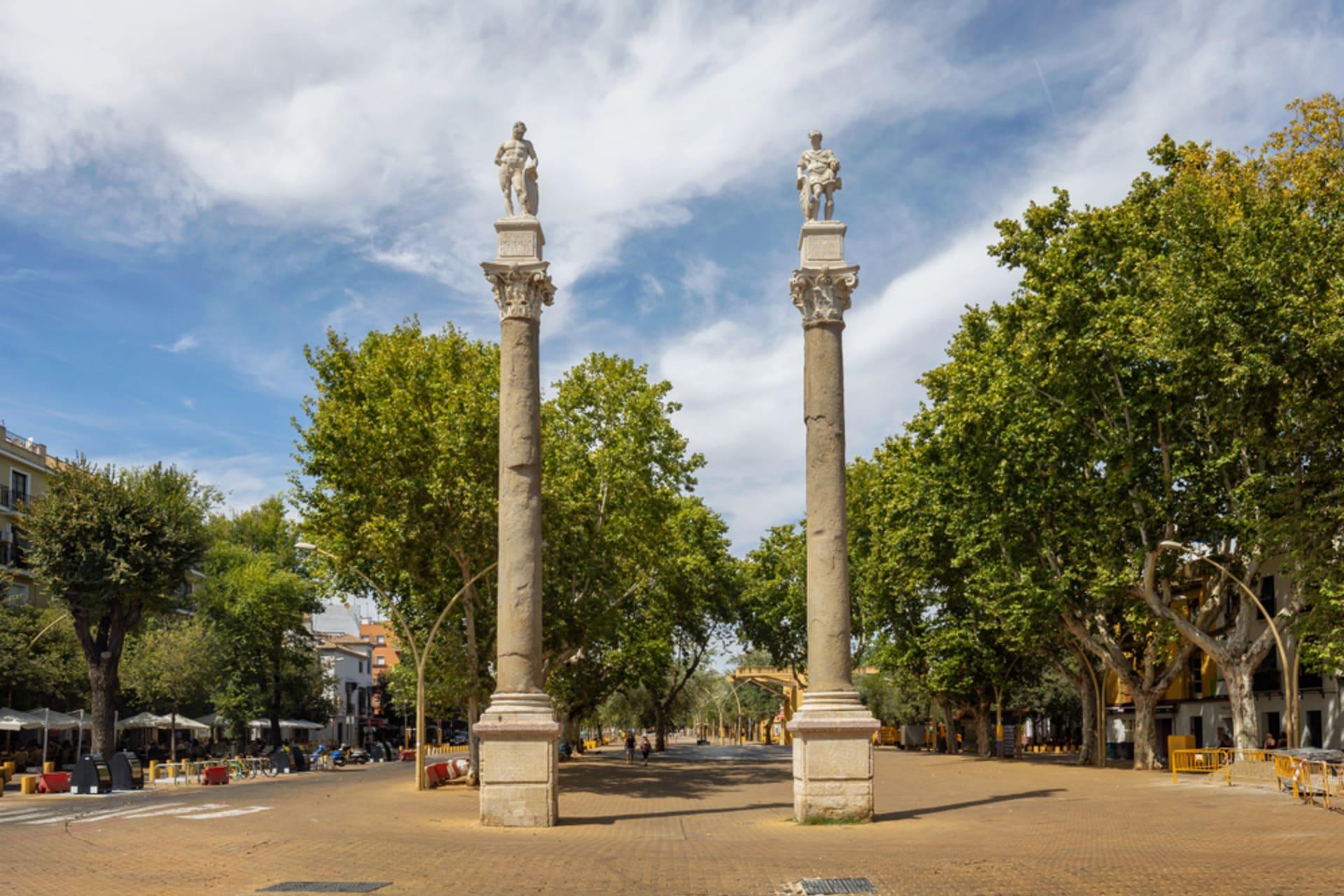 Seville - Strolling down Seville's Alameda de Hércules