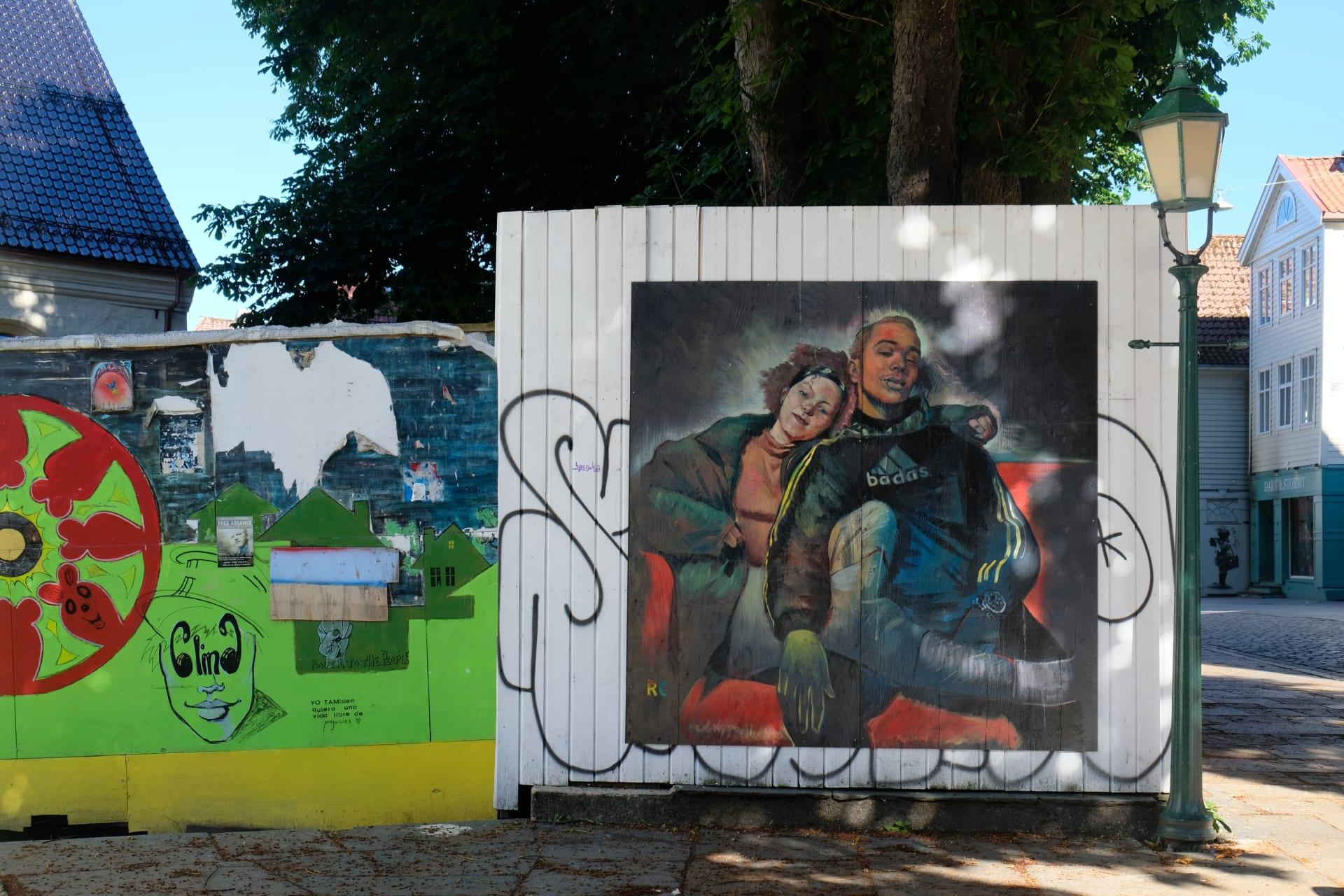 Bergen - Bergen's Street Art & Urban Charm