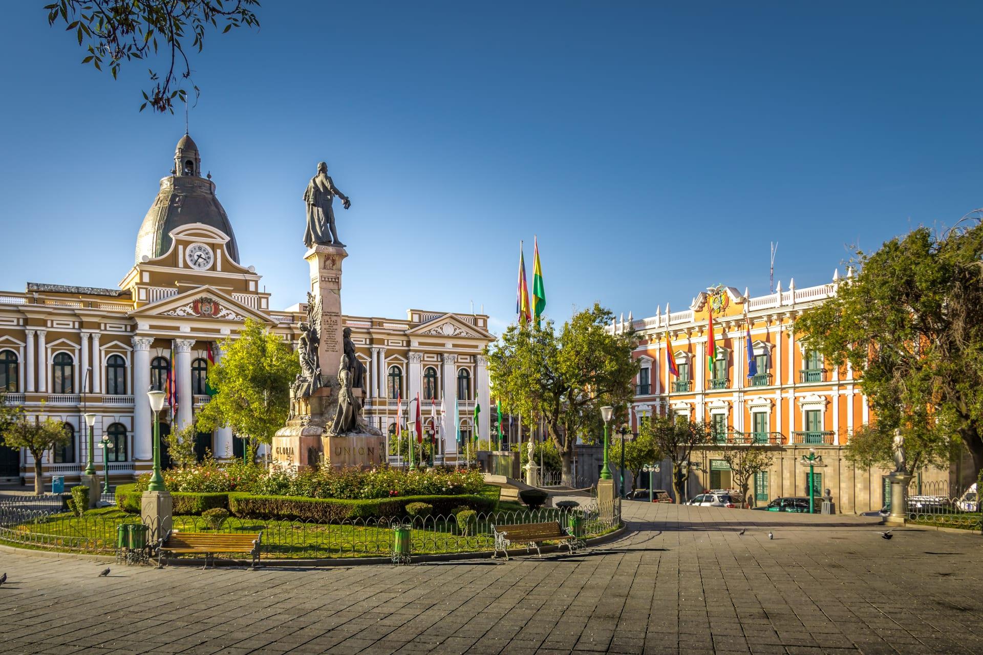 La Paz - Main square MURILLO