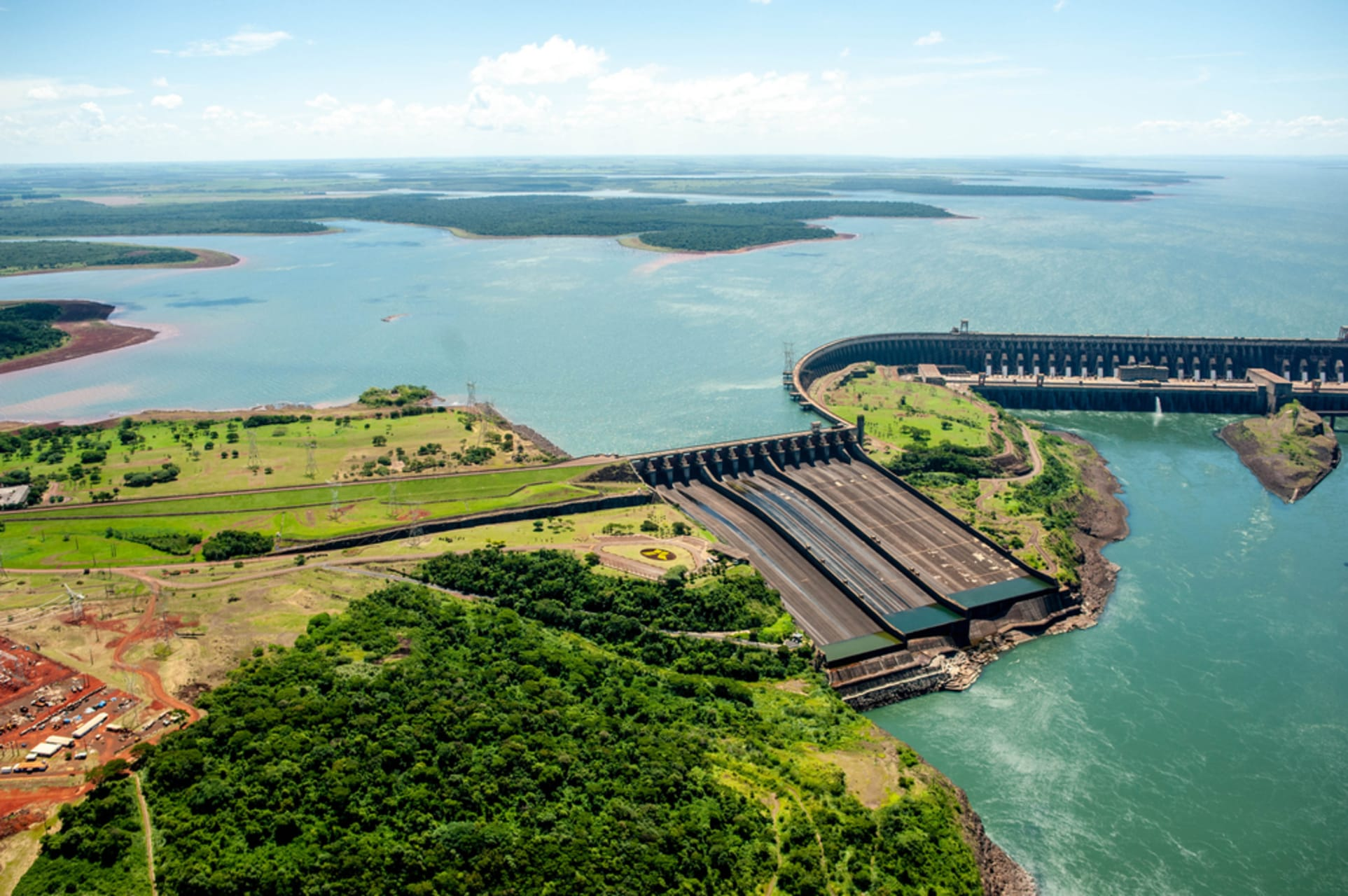 Iguazu Falls - Itaipu Dam - One of the Modern Wonders of the World