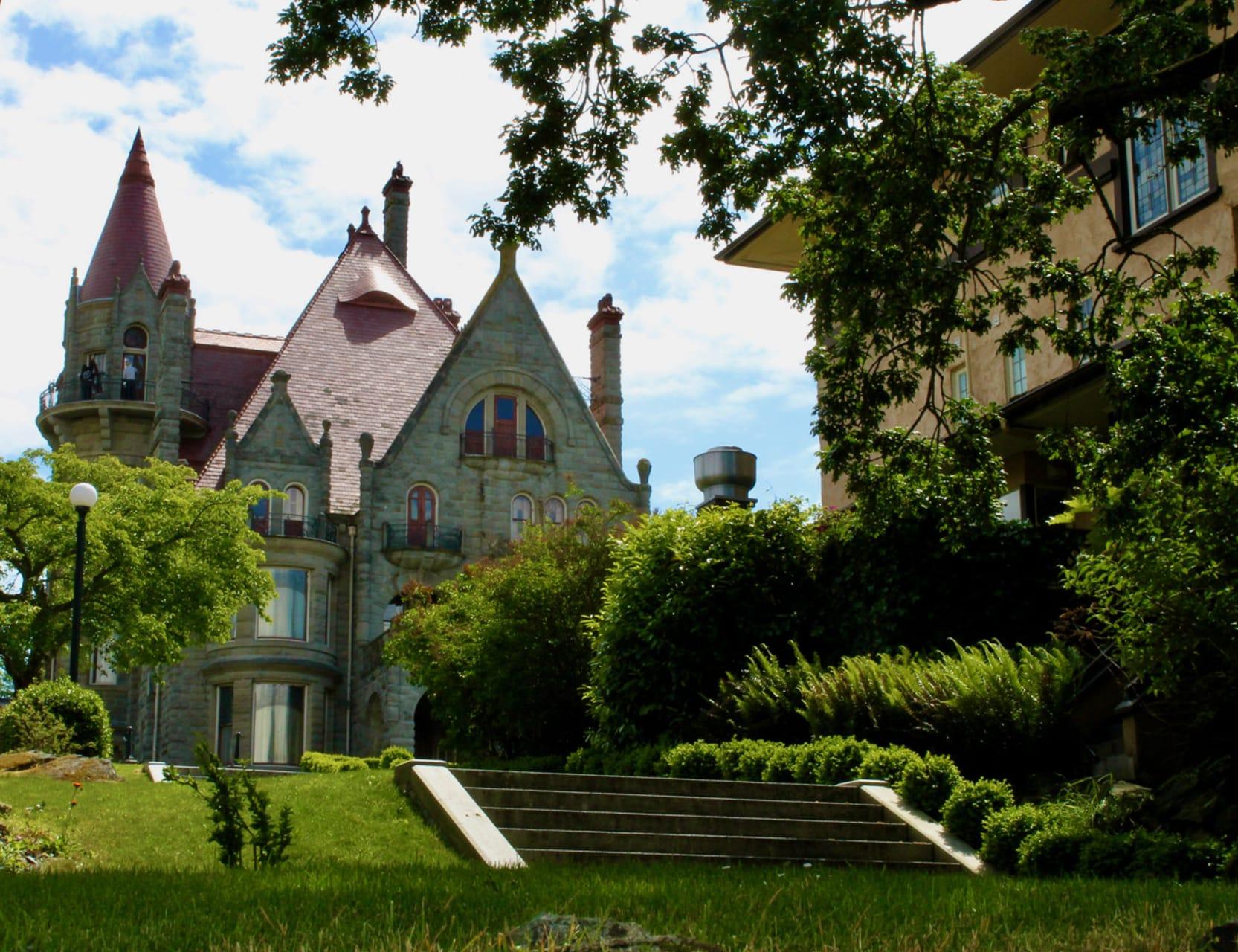 Victoria, BC - Craigdarroch Castle and Stunning Gardens