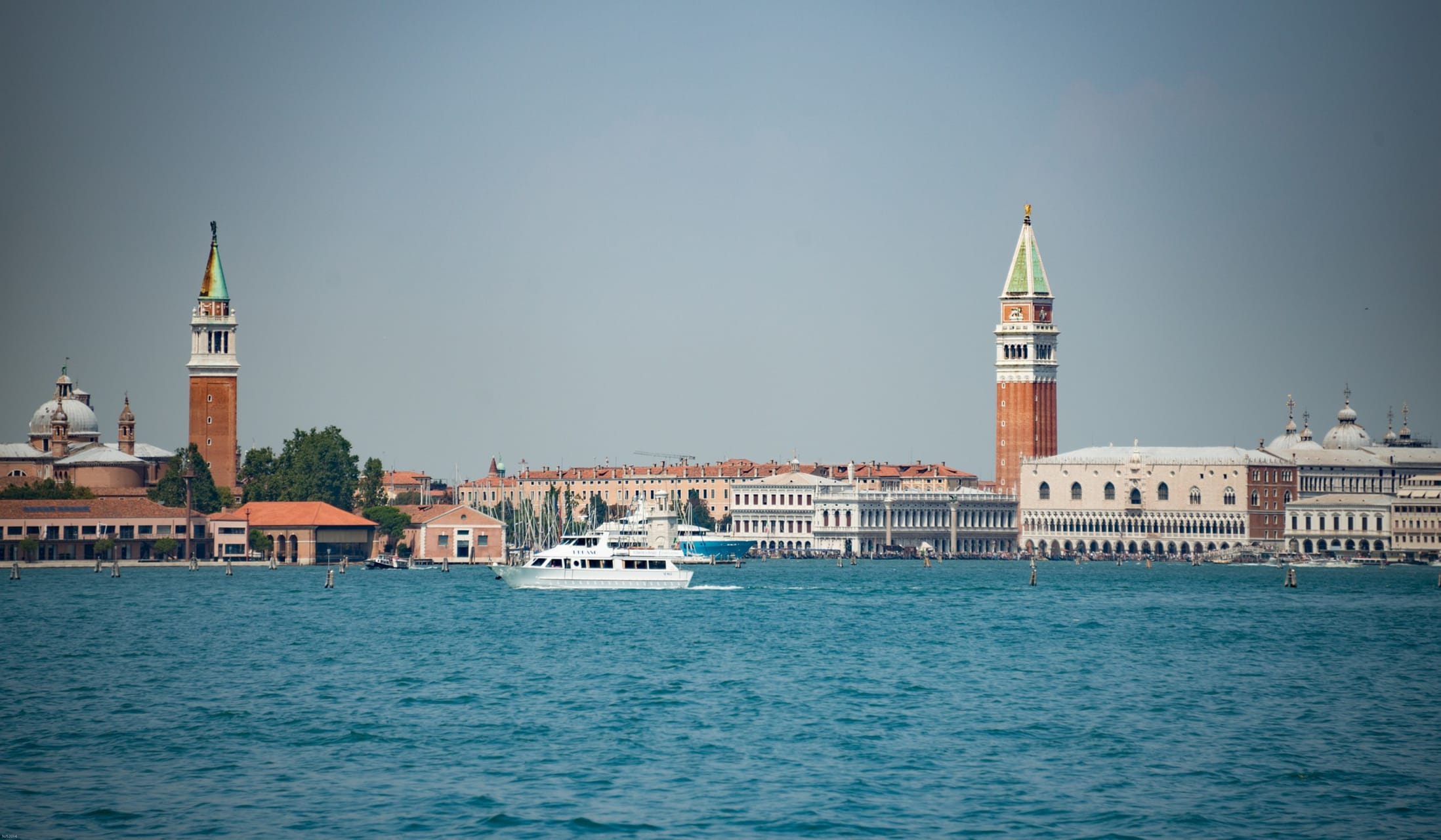 Venice - Tour of the St. Mark Bay by a Typical Private Venetian Boat