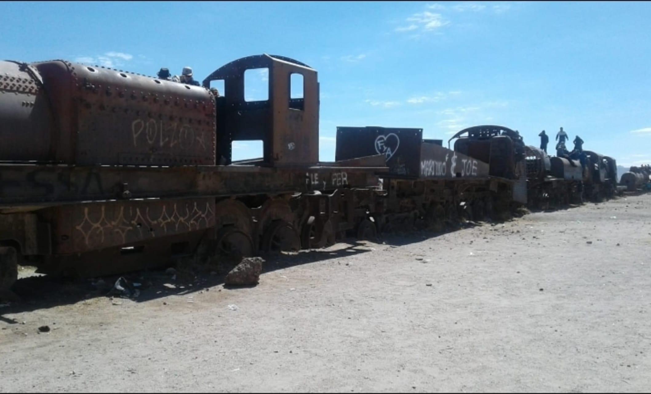 Uyuni - Train Cementery