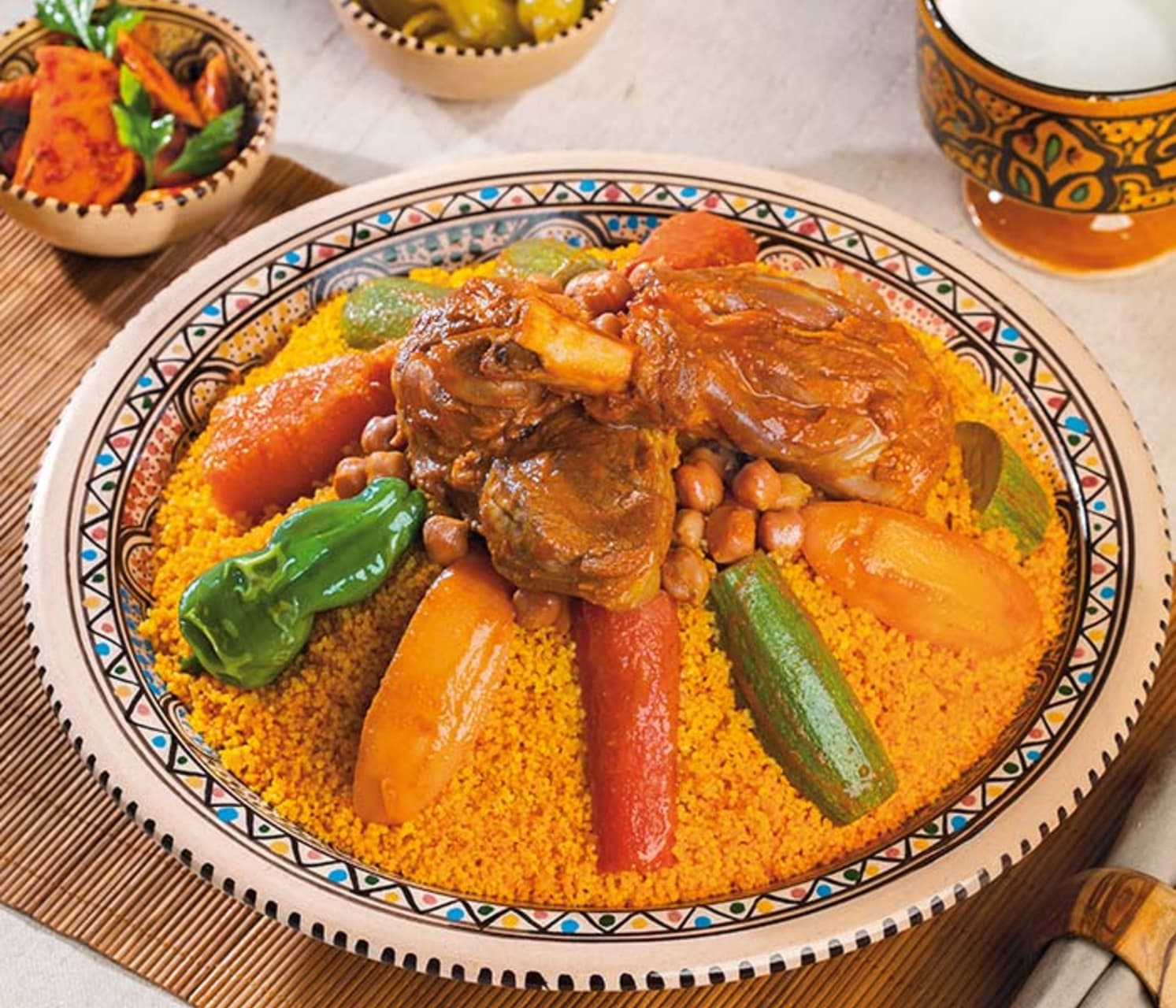 Tunis & Carthage - Tunisian Culinary experience Couscous with Lamb & Vegetables