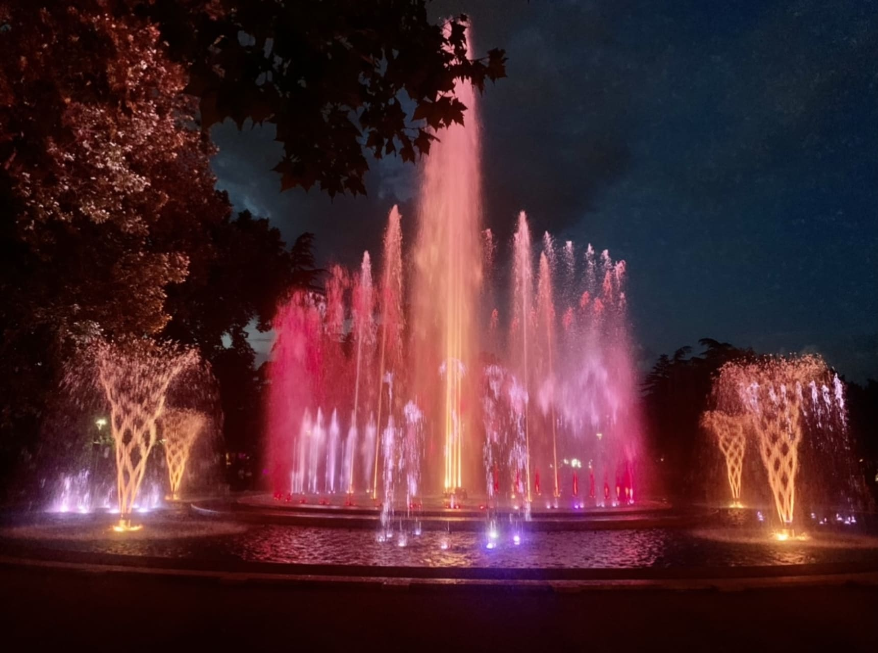 Budapest - The Musical Fountain on Margaret Island - A truly Special Experience