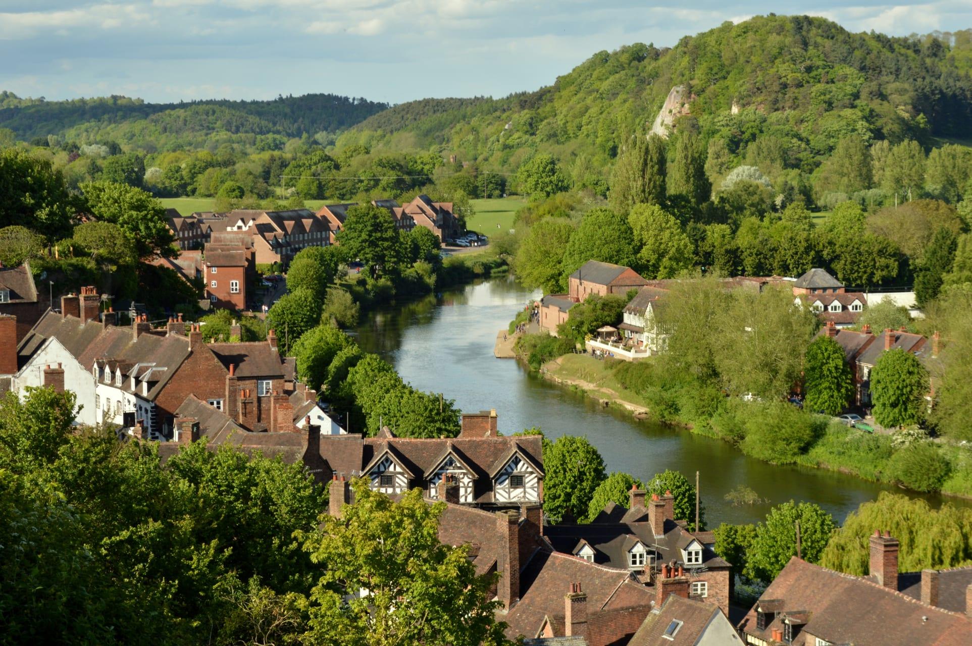 Shropshire - Bridgnorth - The Finest View in the Kingdom