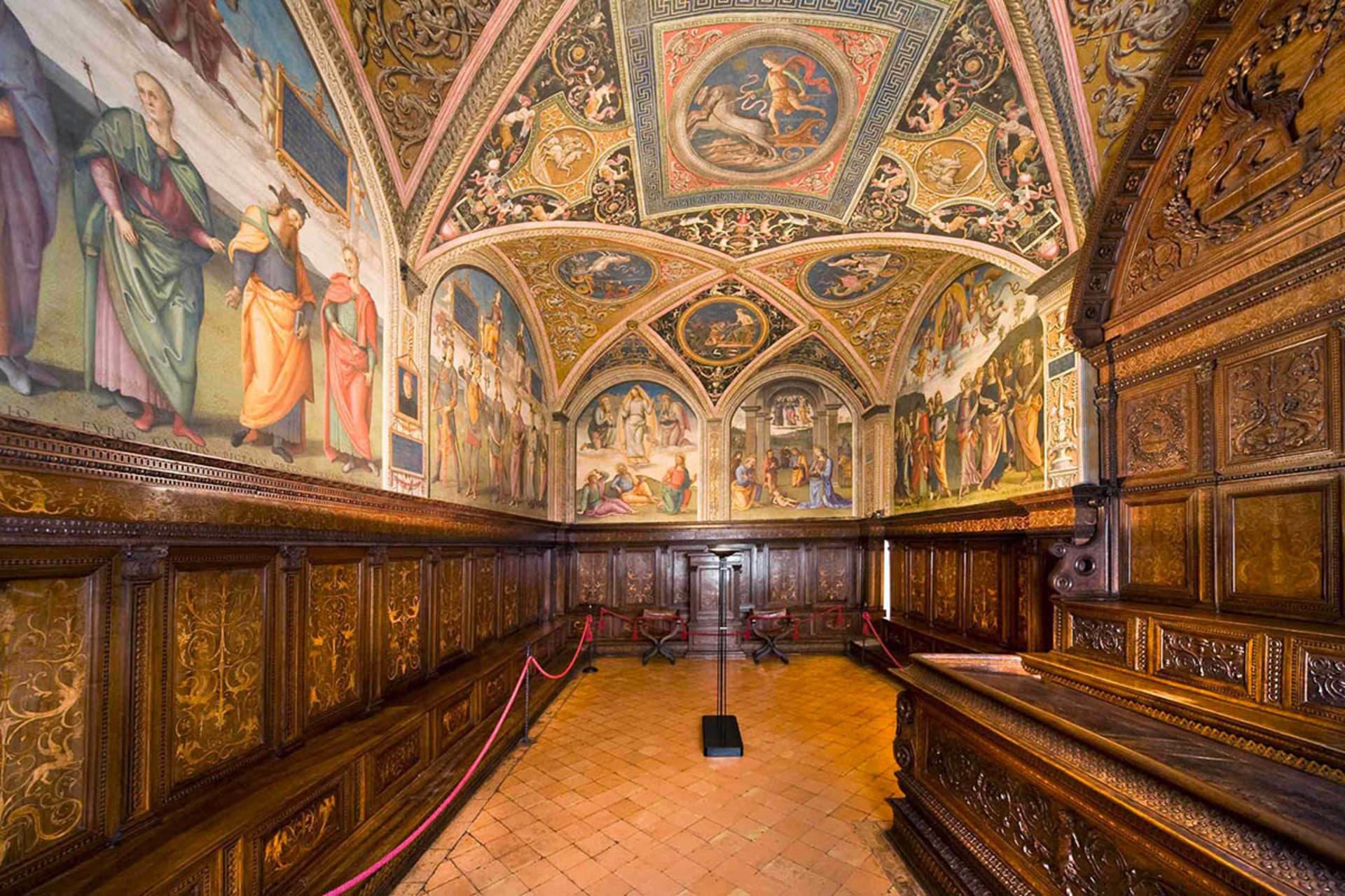 Perugia - The Collegio del Cambio or the world's most beautiful bank