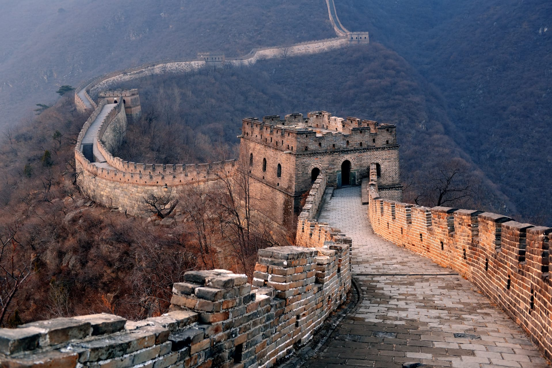 Beijing - Mutianyu China Great Wall: The Best Section Part 2 (Walk from Tower 1 to Tower 6 with Toboggan Ride Down)