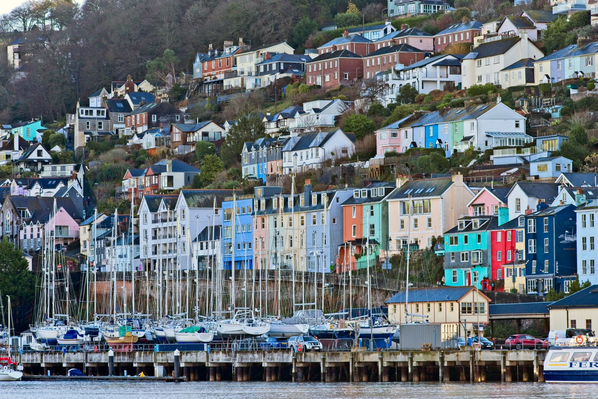 Devon - Dartmouth: maritime town with a Mayflower connection (Silent Tour)