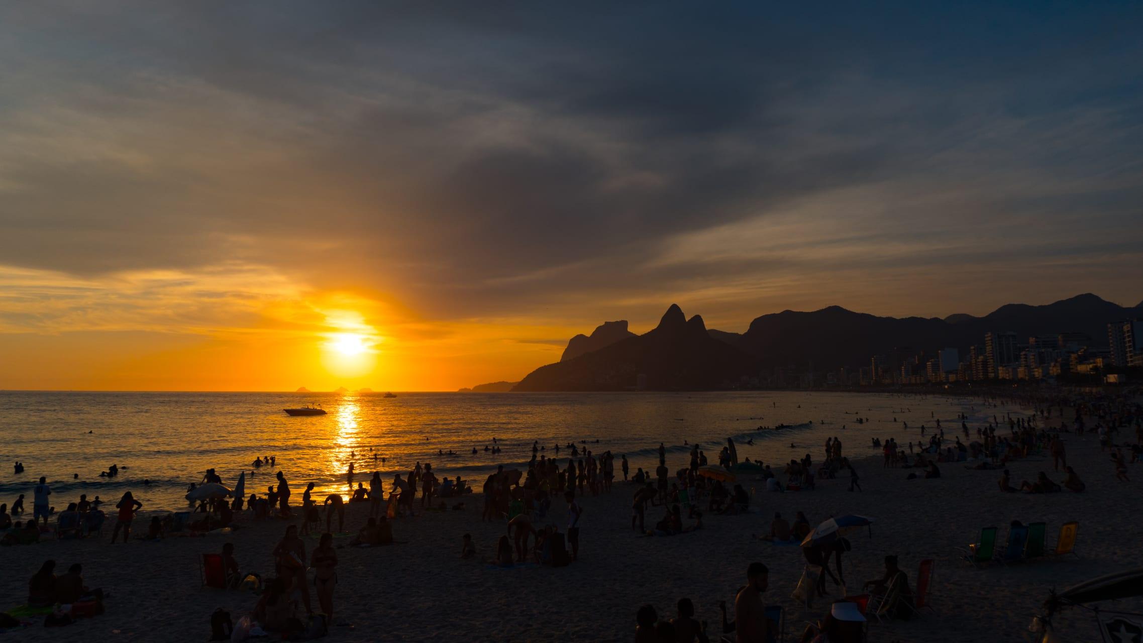 Rio de Janeiro - Music Sunset in Ipanema