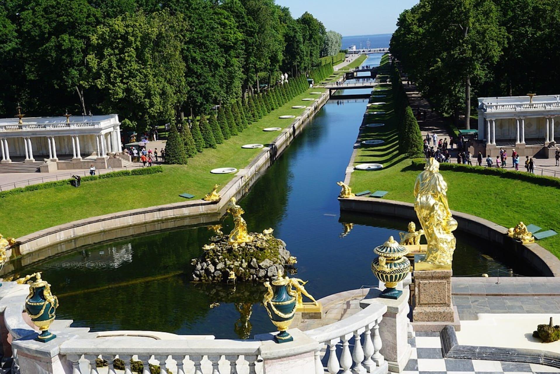 Saint Petersburg - Peterhof - Fountain Residence of Peter the Great Part II