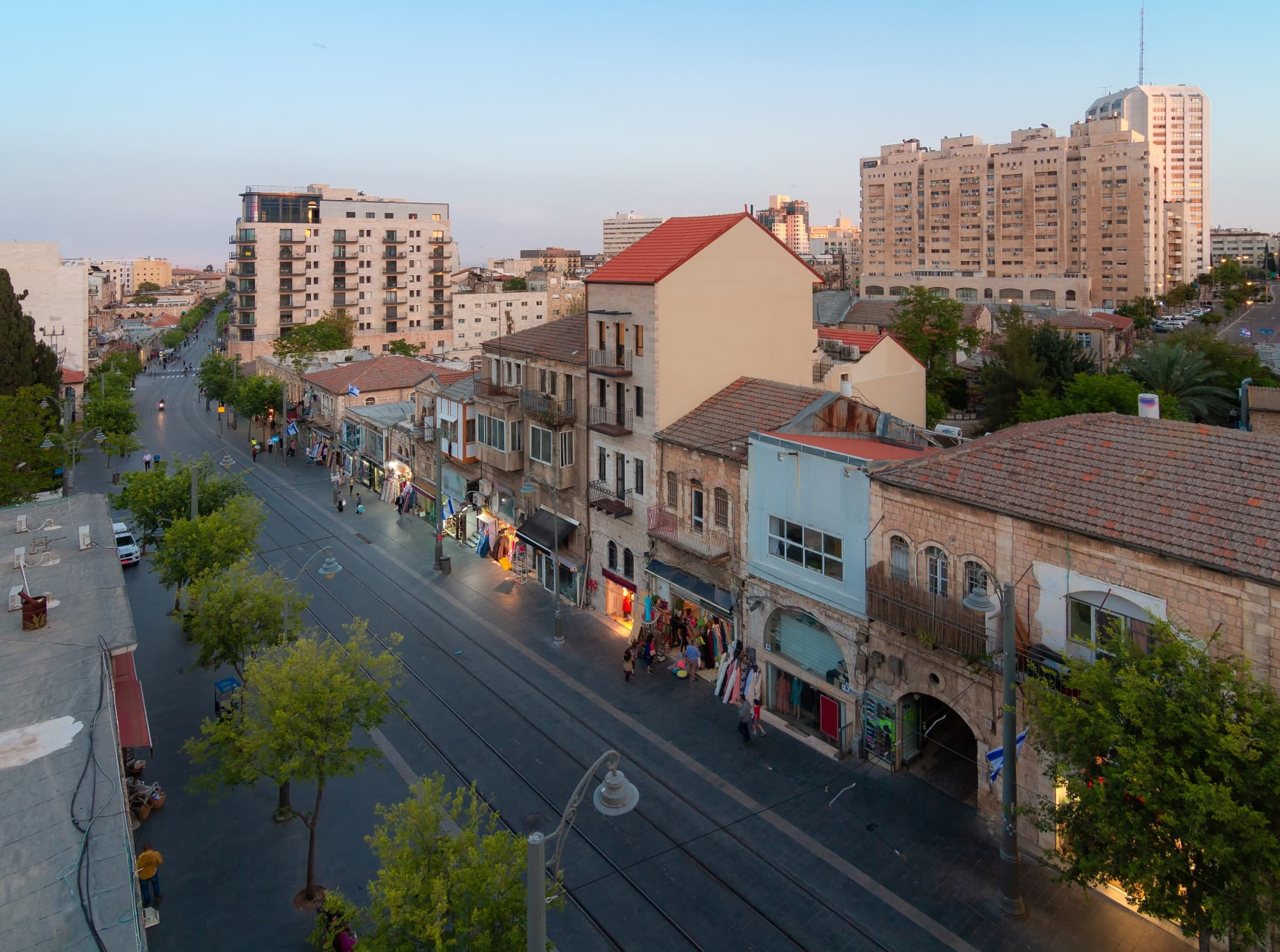 Jerusalem - Ask me anything as we walk down Jaffa street