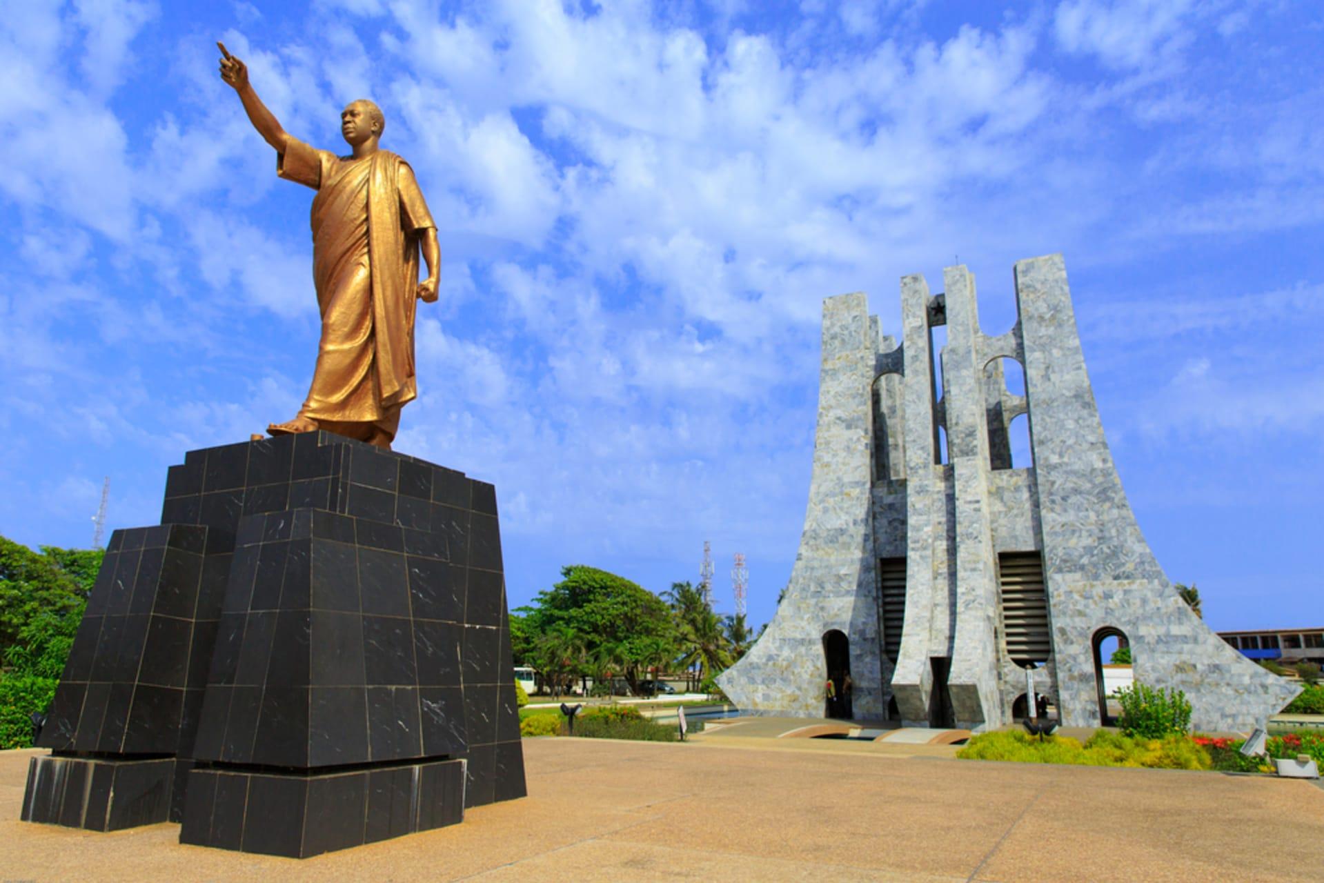 Accra - Kwame Nkrumah Memorial Park in Ghana