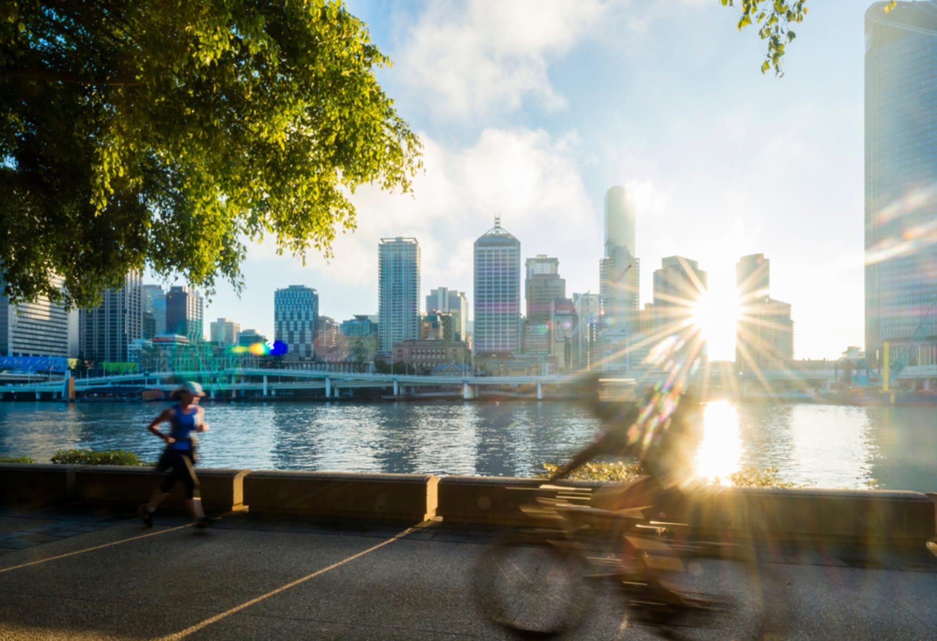 Brisbane - Brisbane's South Bank Parklands