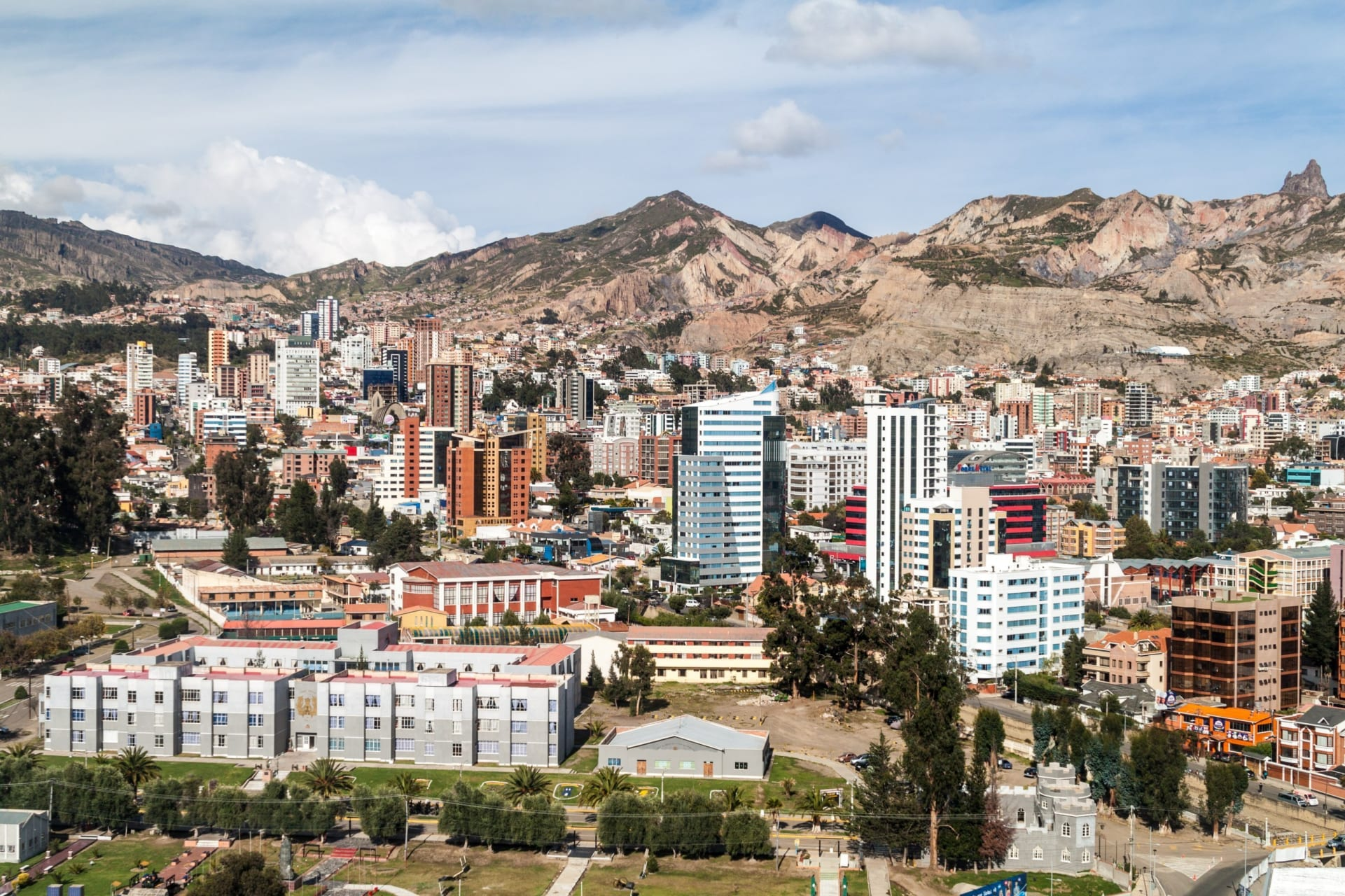 La Paz - Southern Zone: Residential Area