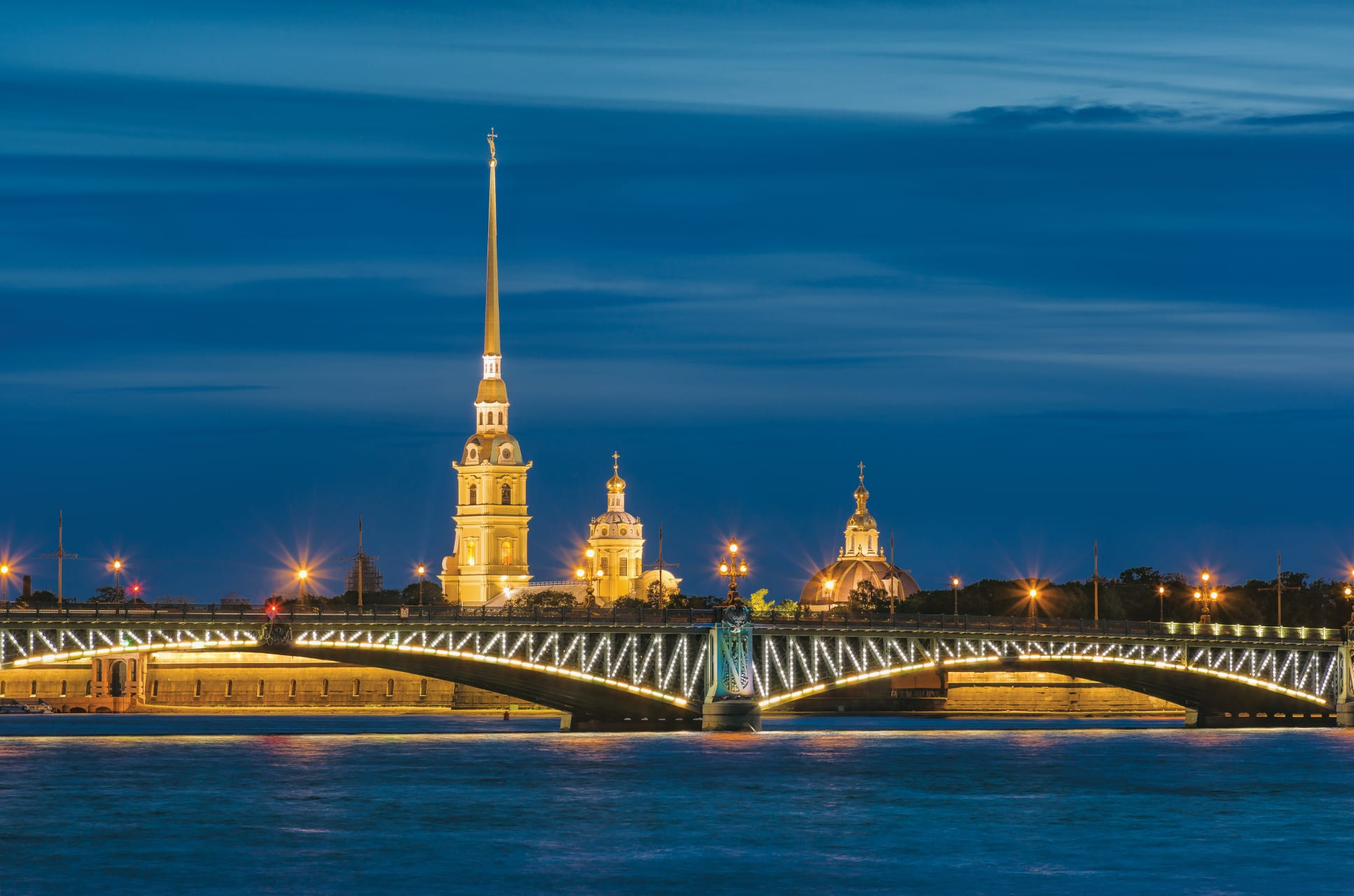 Saint Petersburg - White Nights Special: Bridge opening Part I. Palace Bridge and Trinity Bridge