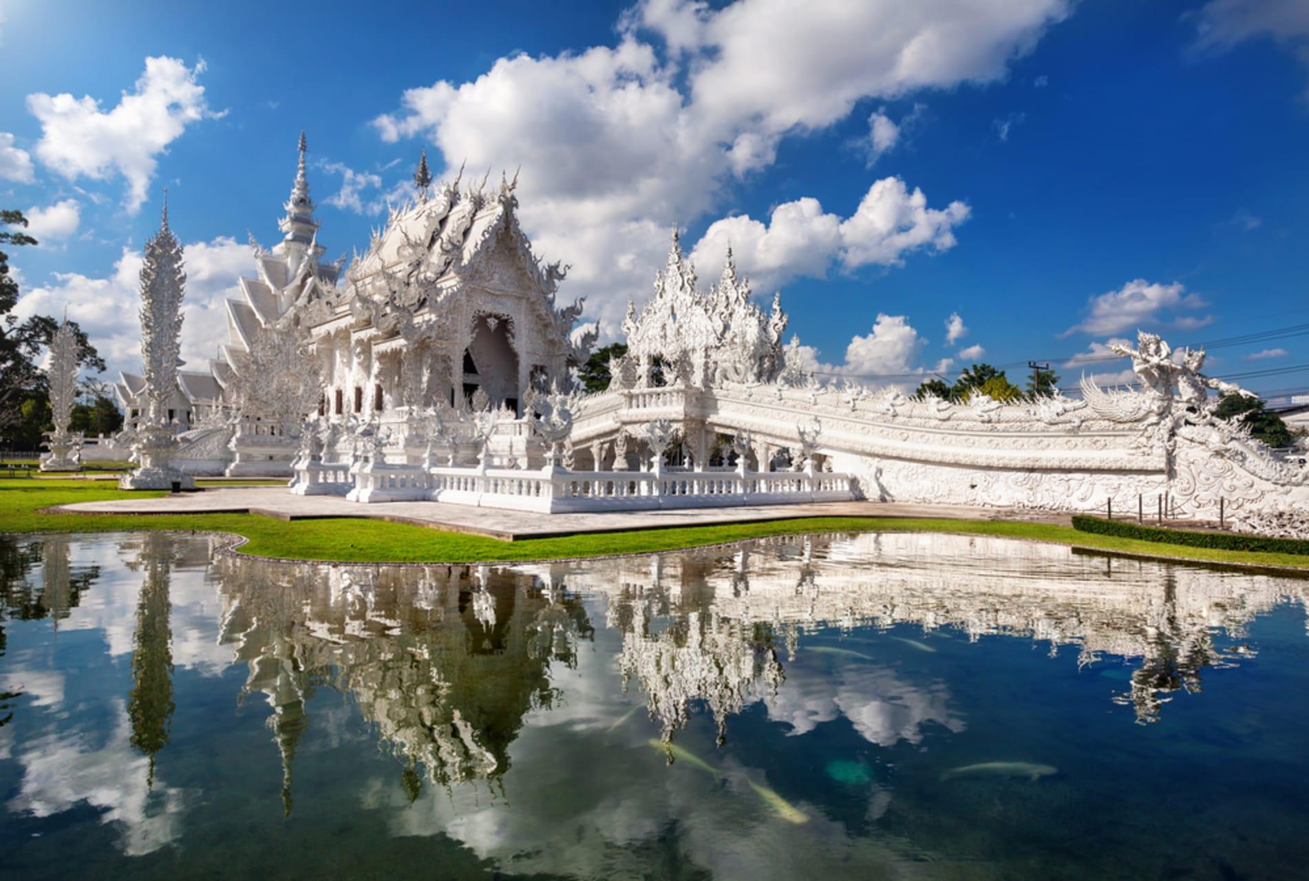 Chiang Rai - White Temple , Unique Architecture Of Thai Art