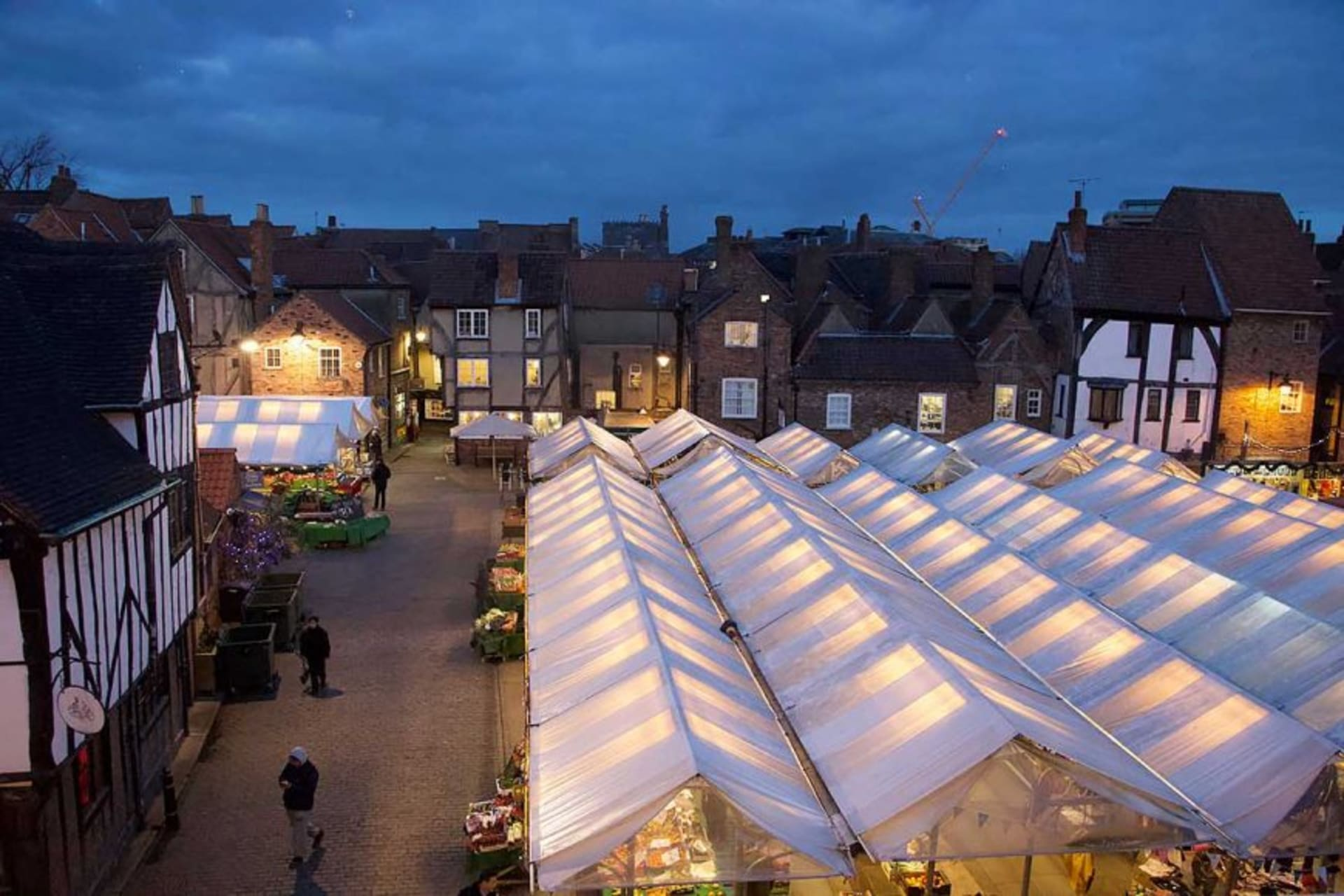 York - A Walk through the Shambles Night Market