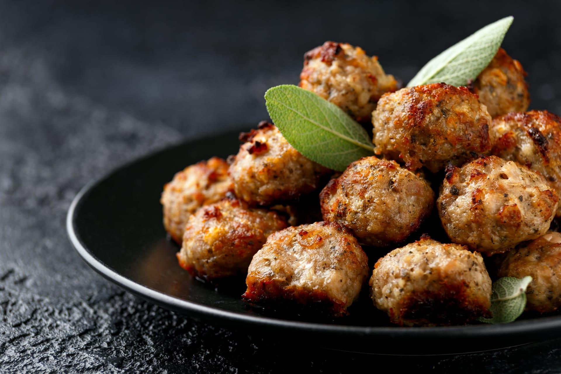 Rome - Polpette - Fried Meatballs