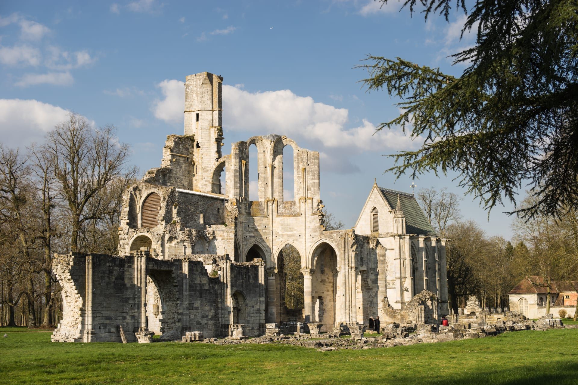 Oise - Abbey of Chaalis