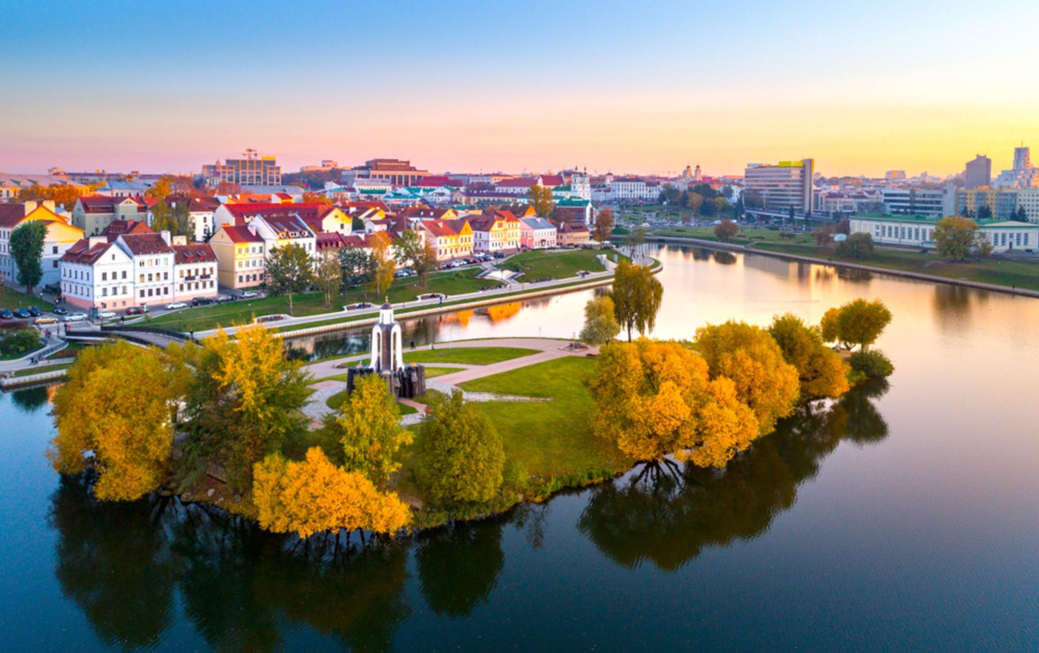 Minsk - Minsk - Trinity Suburb and The Island of Tears