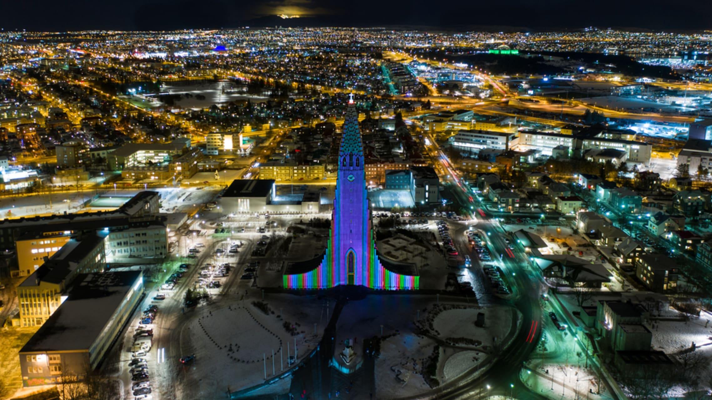 Reykjavik - Winter Festival in Reykjavik – a Virtual Walk Along the Trail of Light