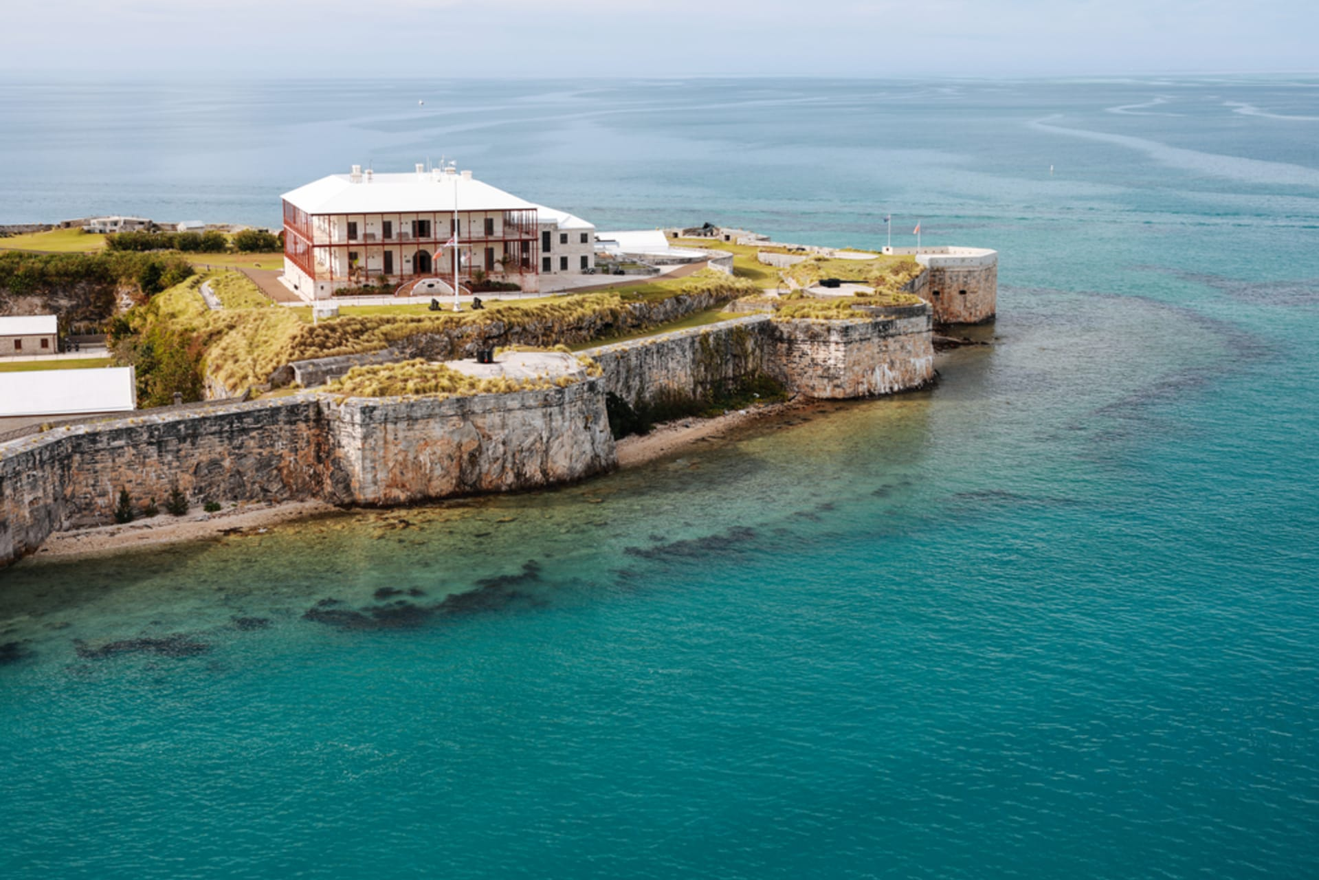 Bermuda - Take the fast ferry with TonyB for the Royal Naval Dockyard Tour