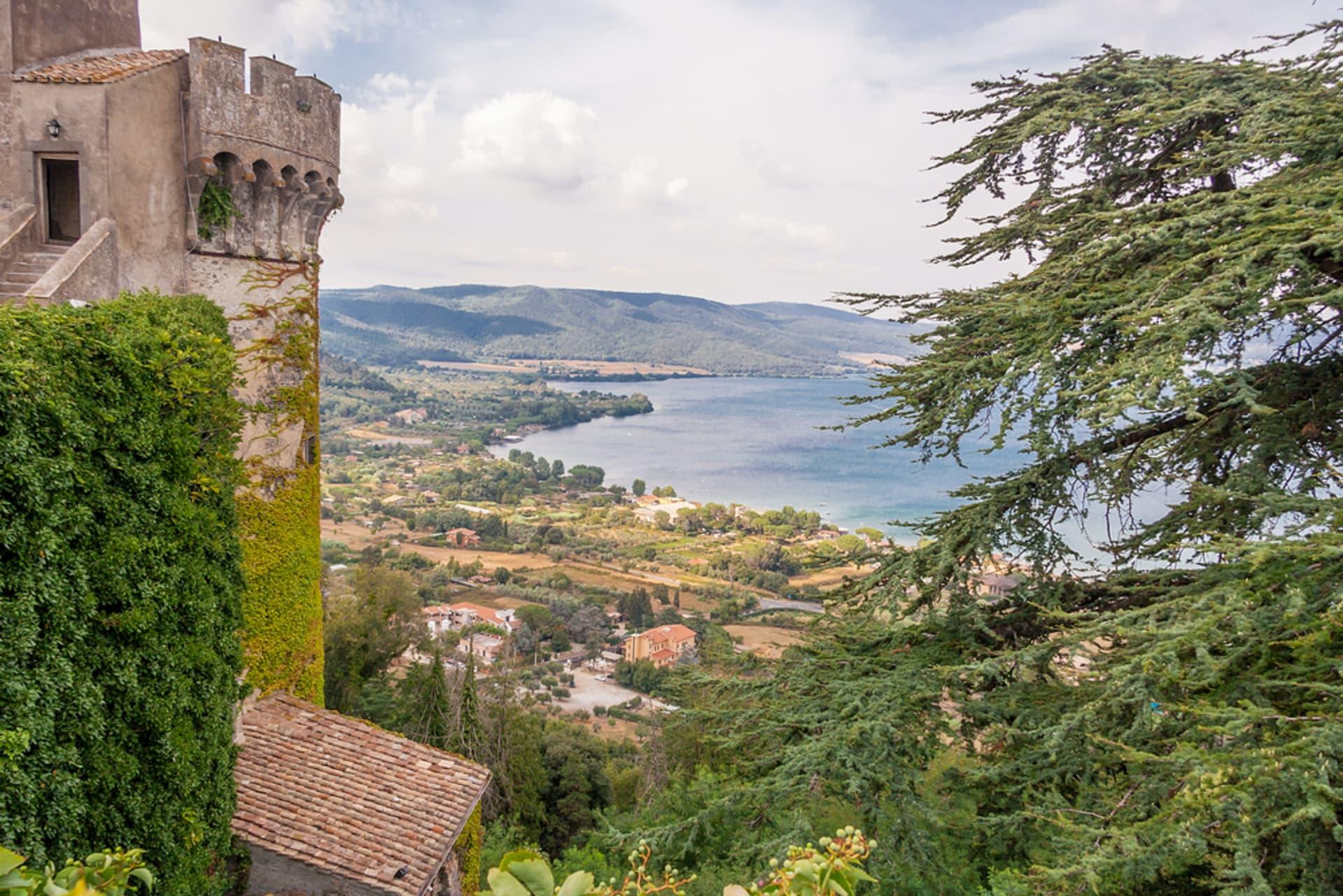 Rome - Bracciano Lake and Castle