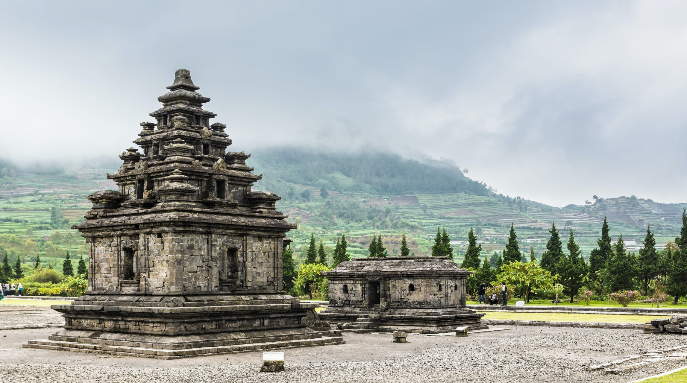 Wonosobo - Dieng Plateau : the Land of the Gods