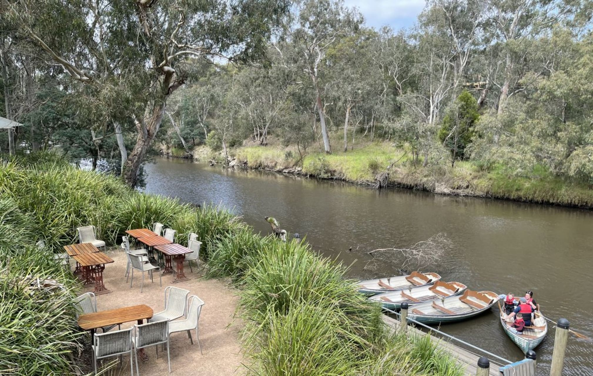 Melbourne - Breakfast at the Boathouse
