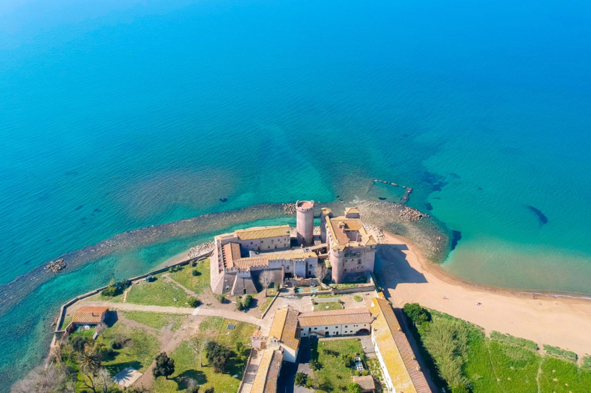 Lazio - Santa Severa - a Castle by the sea